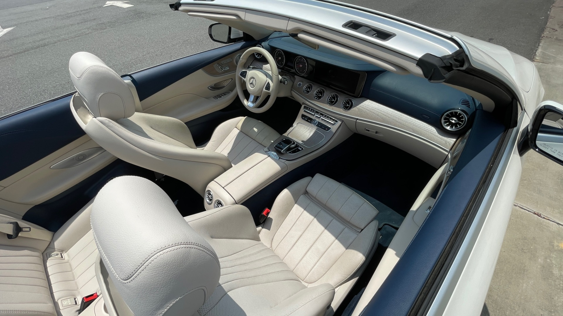 Used 2018 Mercedes-Benz E-CLASS E 400 CABRIOLET / PREM PKG / AMG LINE / NAV / REARVIEW for sale Sold at Formula Imports in Charlotte NC 28227 51