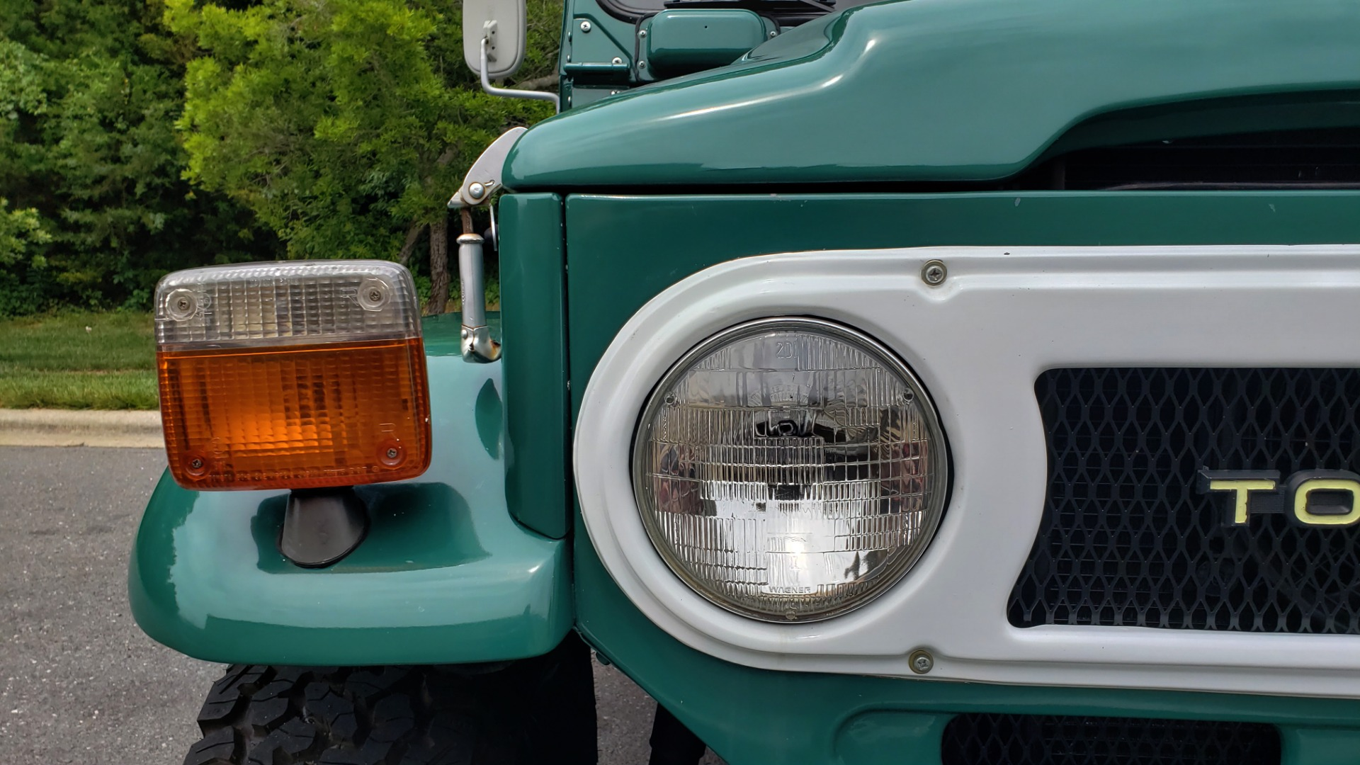 Used 1978 Toyota FJ40 LAND CRUISER 4x4 HARDTOP / RESTORED / 4-SPEED MAN / NEW AIR COND for sale Call for price at Formula Imports in Charlotte NC 28227 10