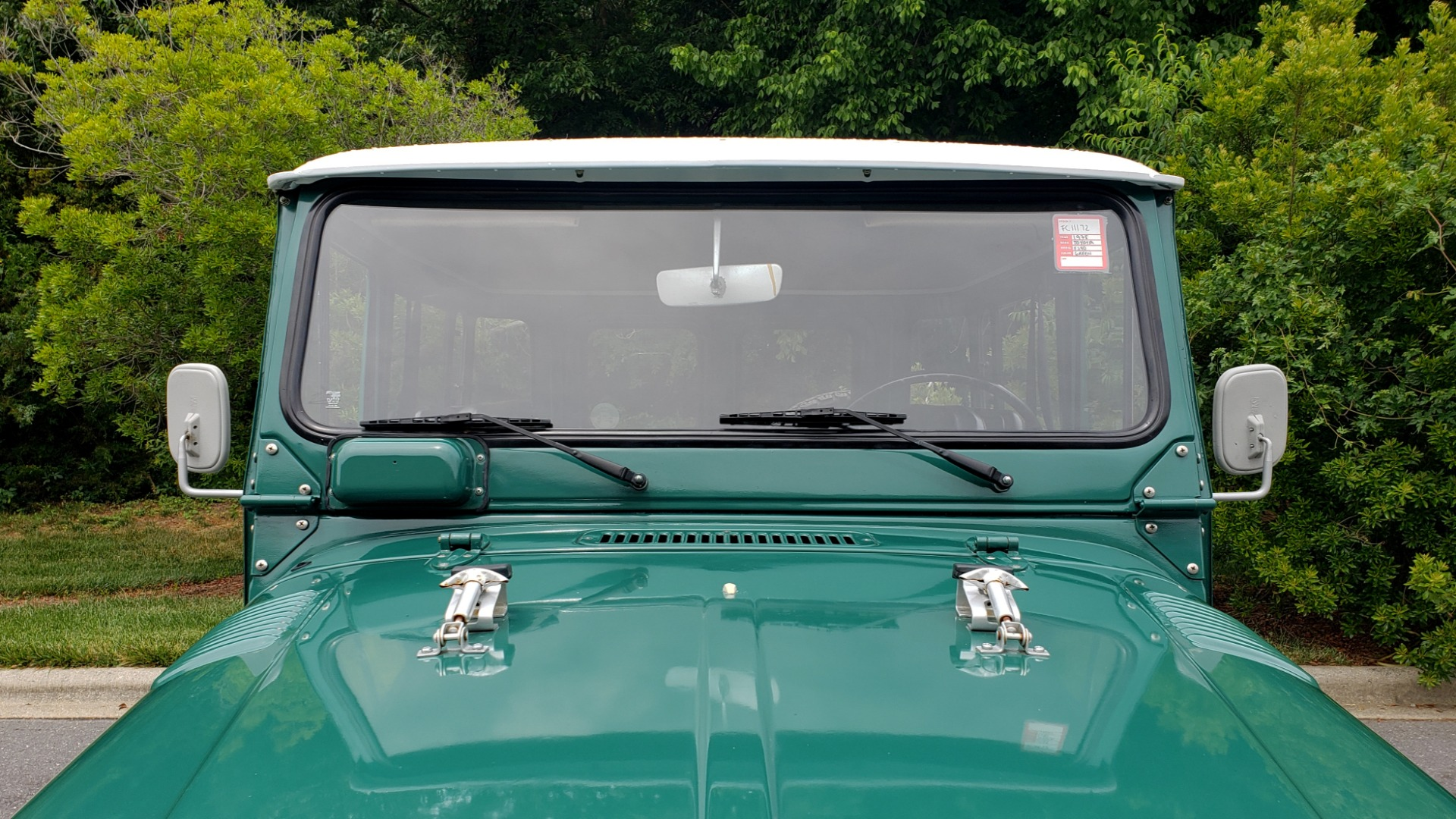 Used 1978 Toyota FJ40 LAND CRUISER 4x4 HARDTOP / RESTORED / 4-SPEED MAN / NEW AIR COND for sale Call for price at Formula Imports in Charlotte NC 28227 12
