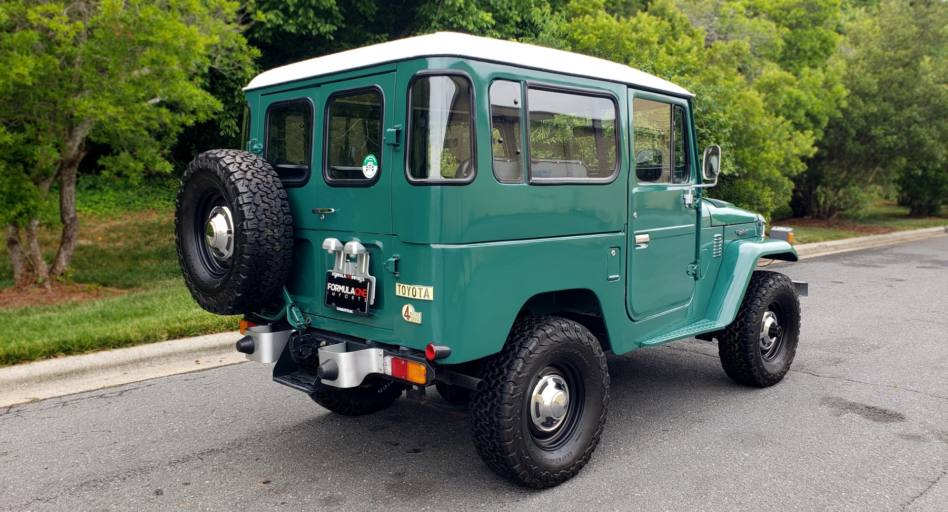 Used 1978 Toyota FJ40 LAND CRUISER 4x4 HARDTOP / RESTORED / 4-SPEED MAN / NEW AIR COND for sale Call for price at Formula Imports in Charlotte NC 28227 2