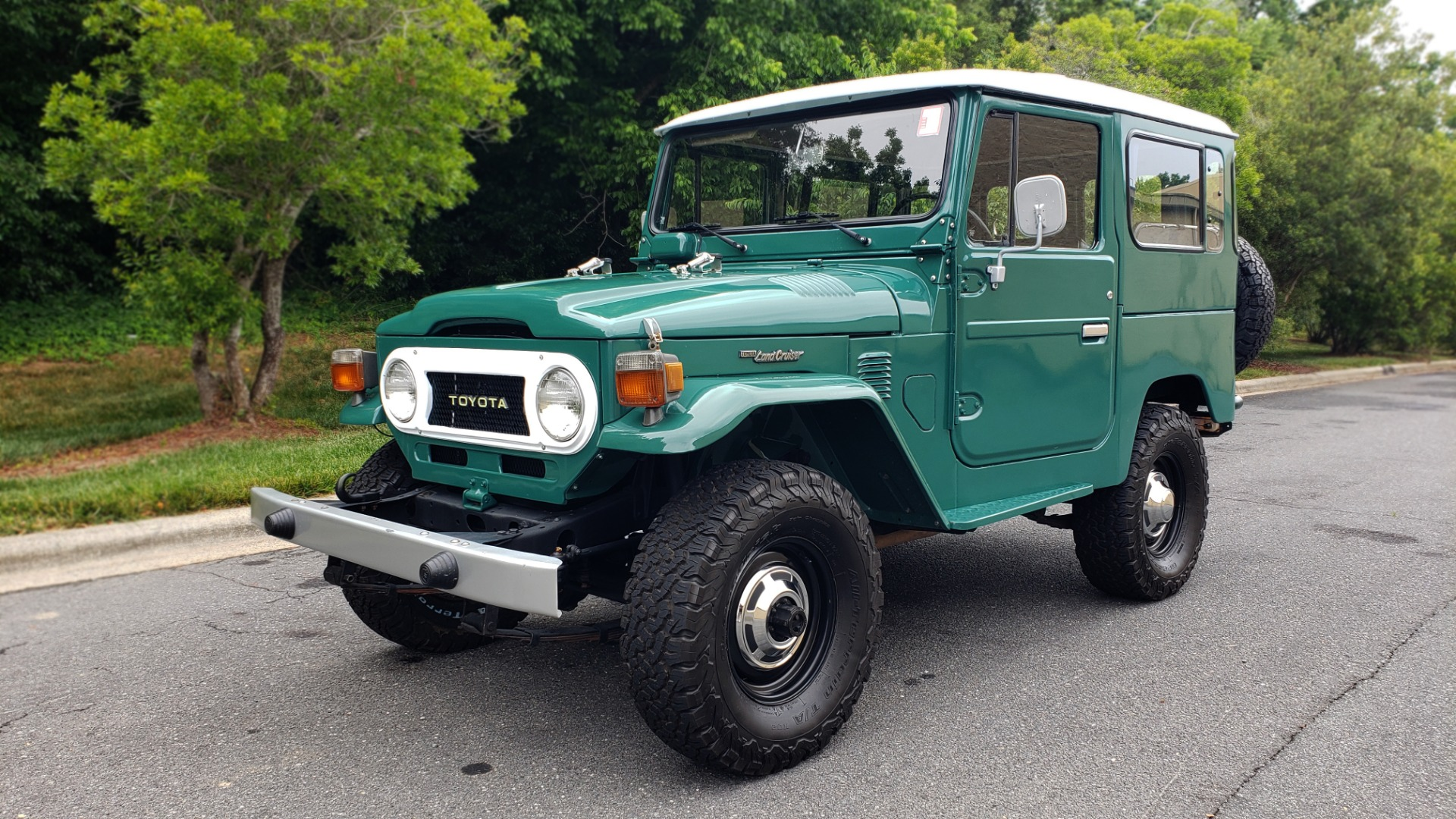 Used 1978 Toyota FJ40 LAND CRUISER 4x4 HARDTOP / RESTORED / 4-SPEED MAN / NEW AIR COND for sale Call for price at Formula Imports in Charlotte NC 28227 4