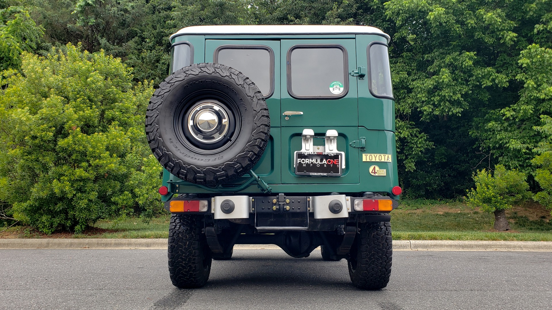 Used 1978 Toyota FJ40 LAND CRUISER 4x4 HARDTOP / RESTORED / 4-SPEED MAN / NEW AIR COND for sale Call for price at Formula Imports in Charlotte NC 28227 52