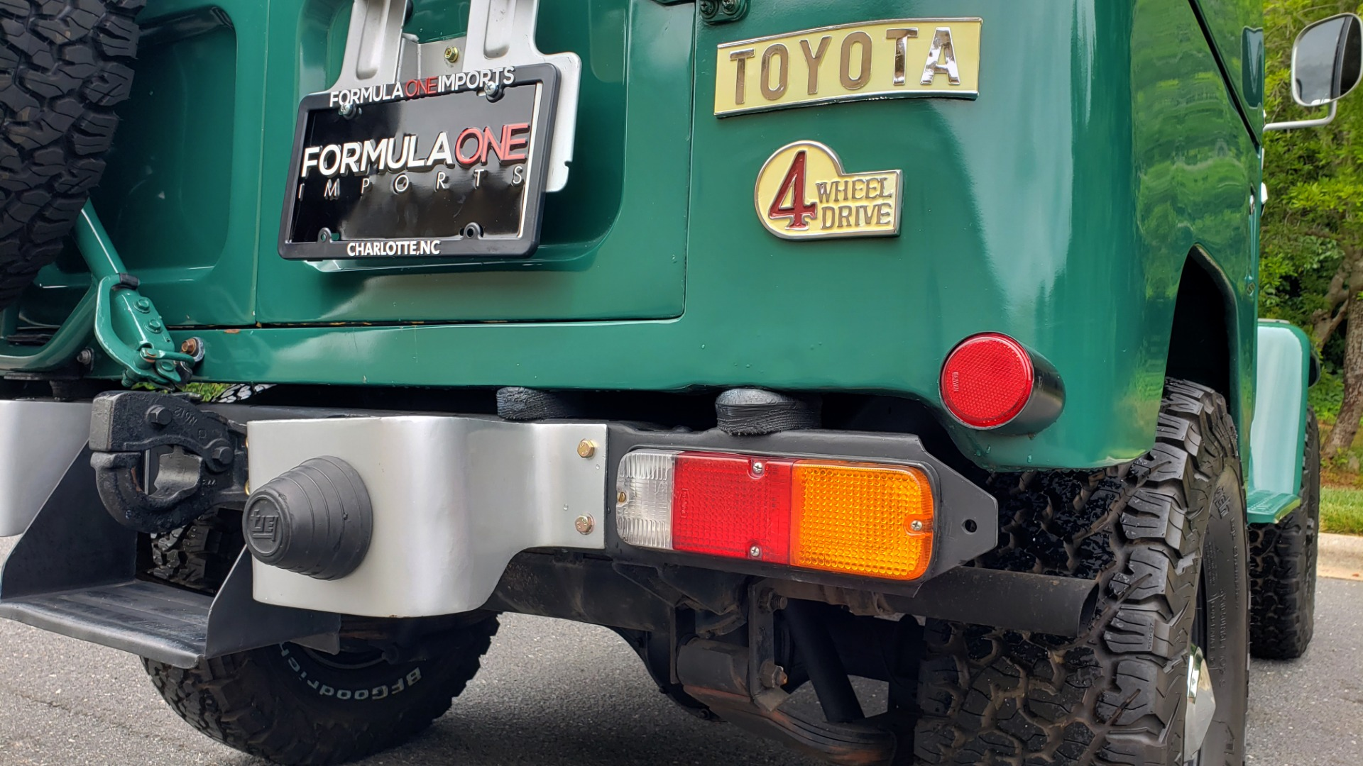 Used 1978 Toyota FJ40 LAND CRUISER 4x4 HARDTOP / RESTORED / 4-SPEED MAN / NEW AIR COND for sale Call for price at Formula Imports in Charlotte NC 28227 54