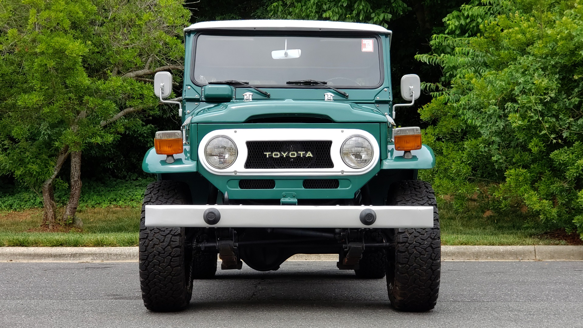 Used 1978 Toyota FJ40 LAND CRUISER 4x4 HARDTOP / RESTORED / 4-SPEED MAN / NEW AIR COND for sale Call for price at Formula Imports in Charlotte NC 28227 8
