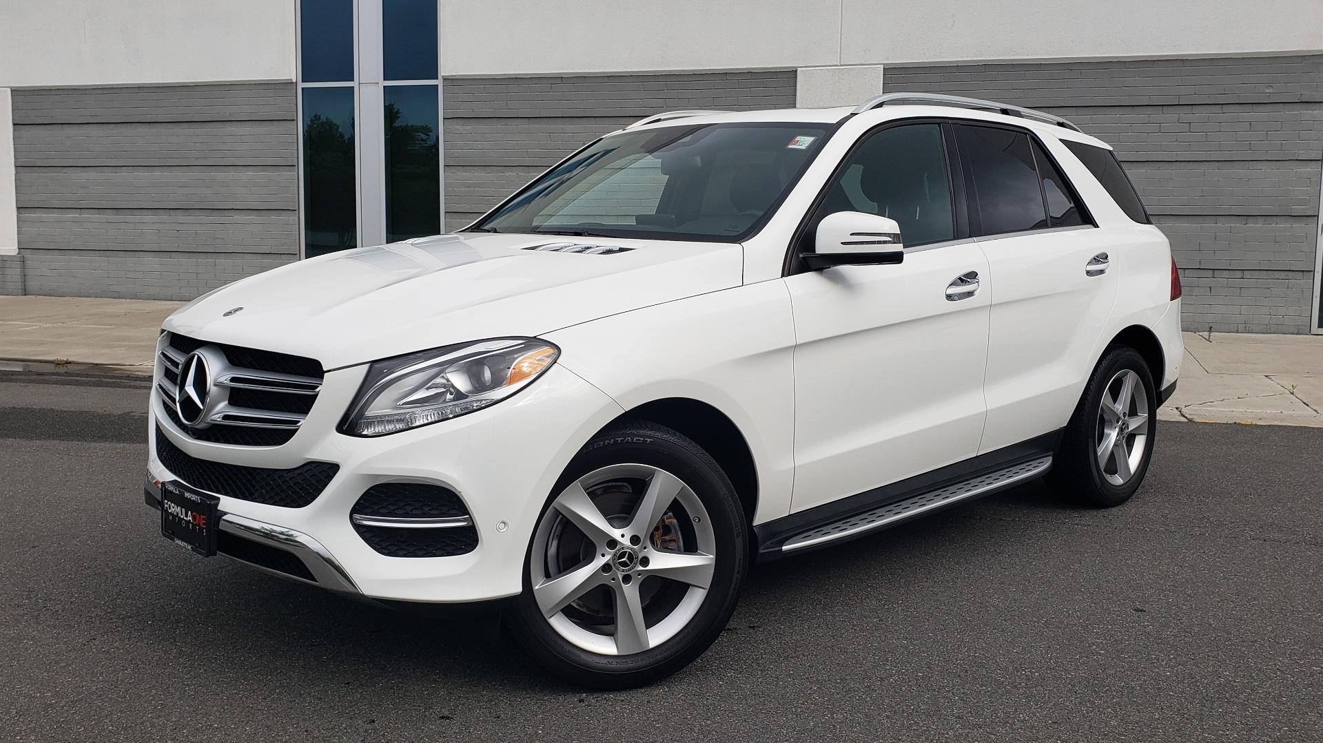 Used 2018 Mercedes-Benz GLE 350 4MATIC / PREM PKG / NAV / PARK ASST / K/H SND / HITCH / REARVIEW for sale $40,801 at Formula Imports in Charlotte NC 28227 1