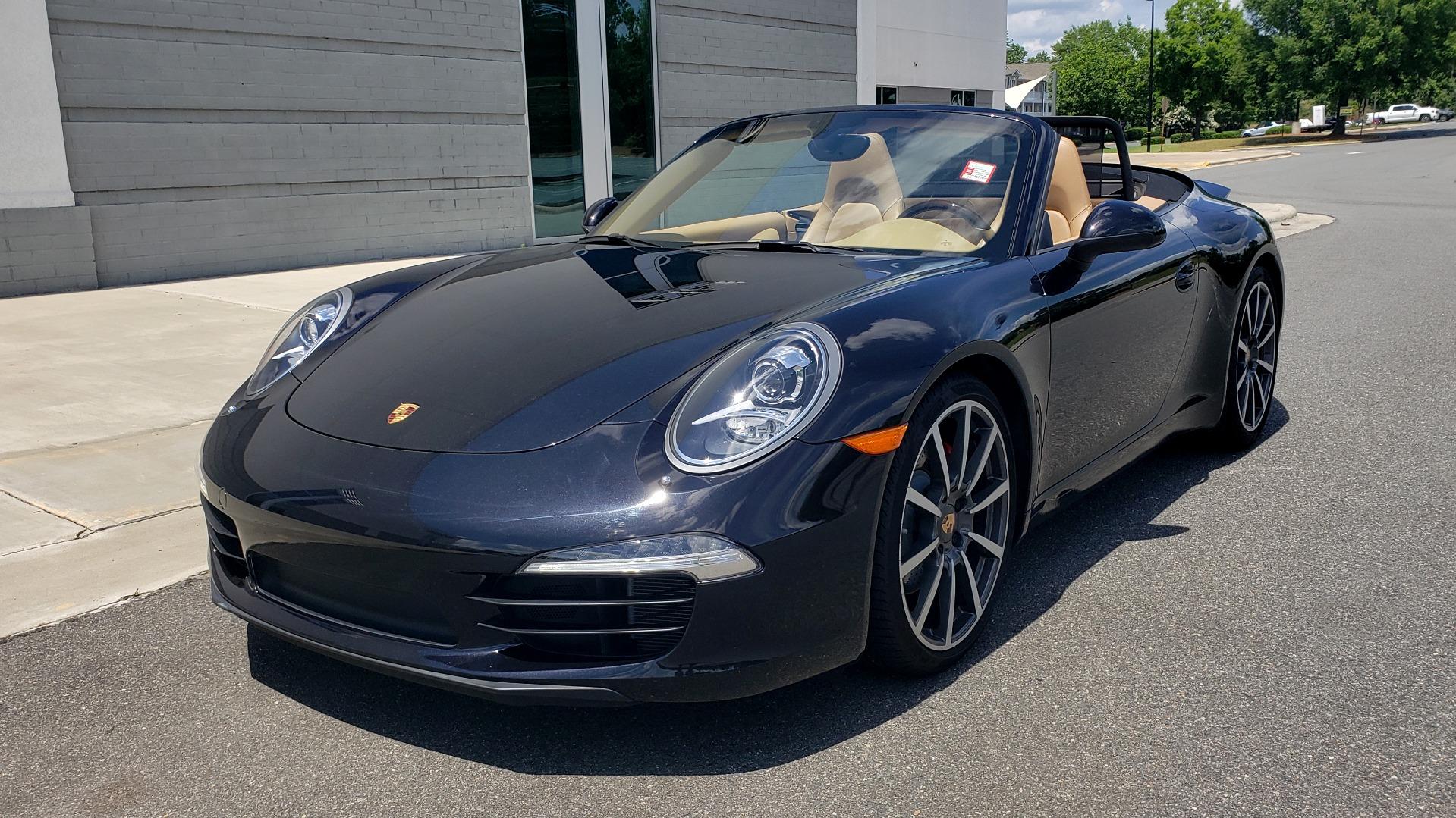 Used 2014 Porsche 911 CARRERA S CABRIOLET / PREM PKG / PDK / NAV / BOSE / SPORT CHRONO for sale $81,995 at Formula Imports in Charlotte NC 28227 2