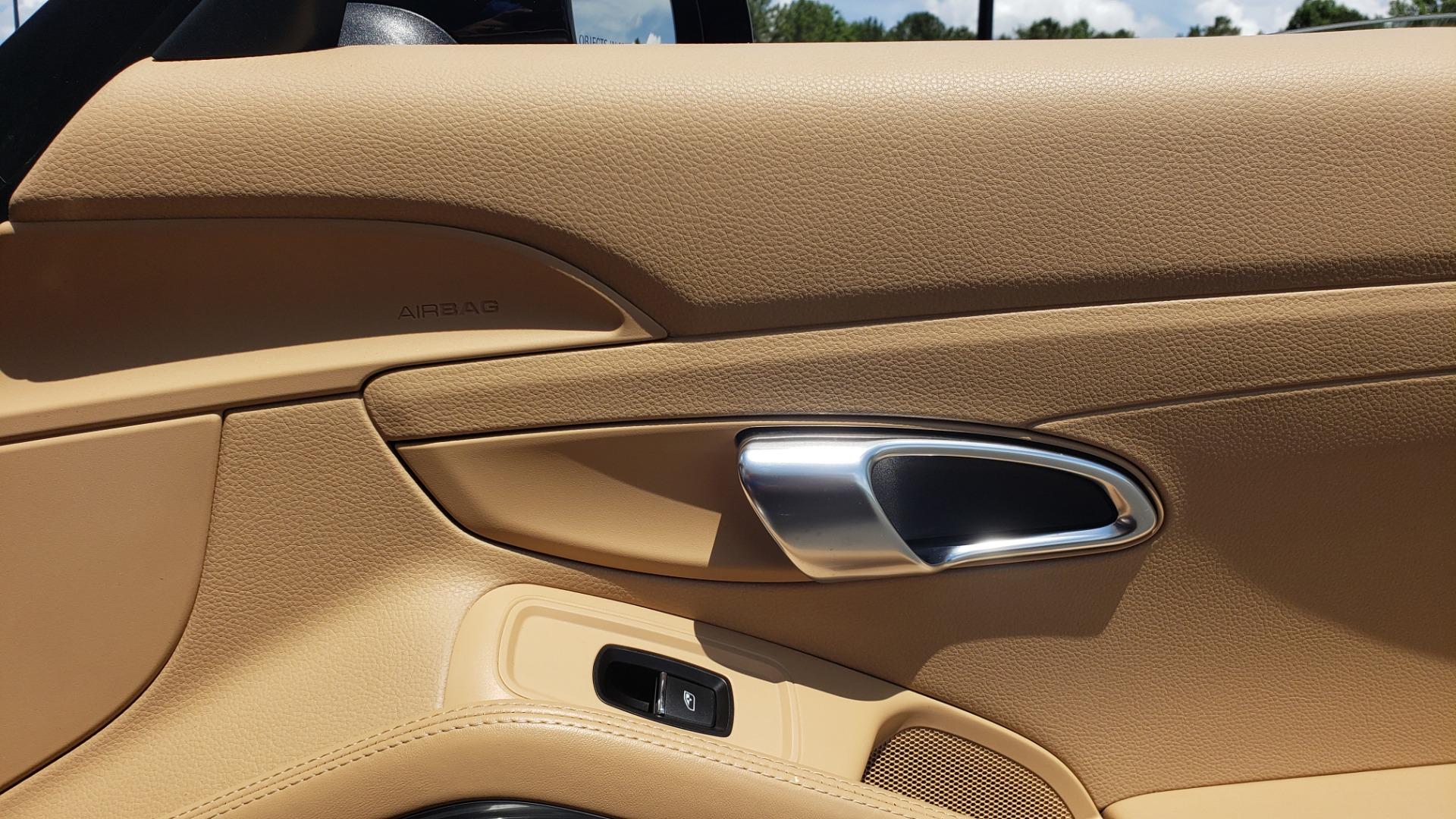 Used 2014 Porsche 911 CARRERA S CABRIOLET / PREM PKG / PDK / NAV / BOSE / SPORT CHRONO for sale $81,995 at Formula Imports in Charlotte NC 28227 39