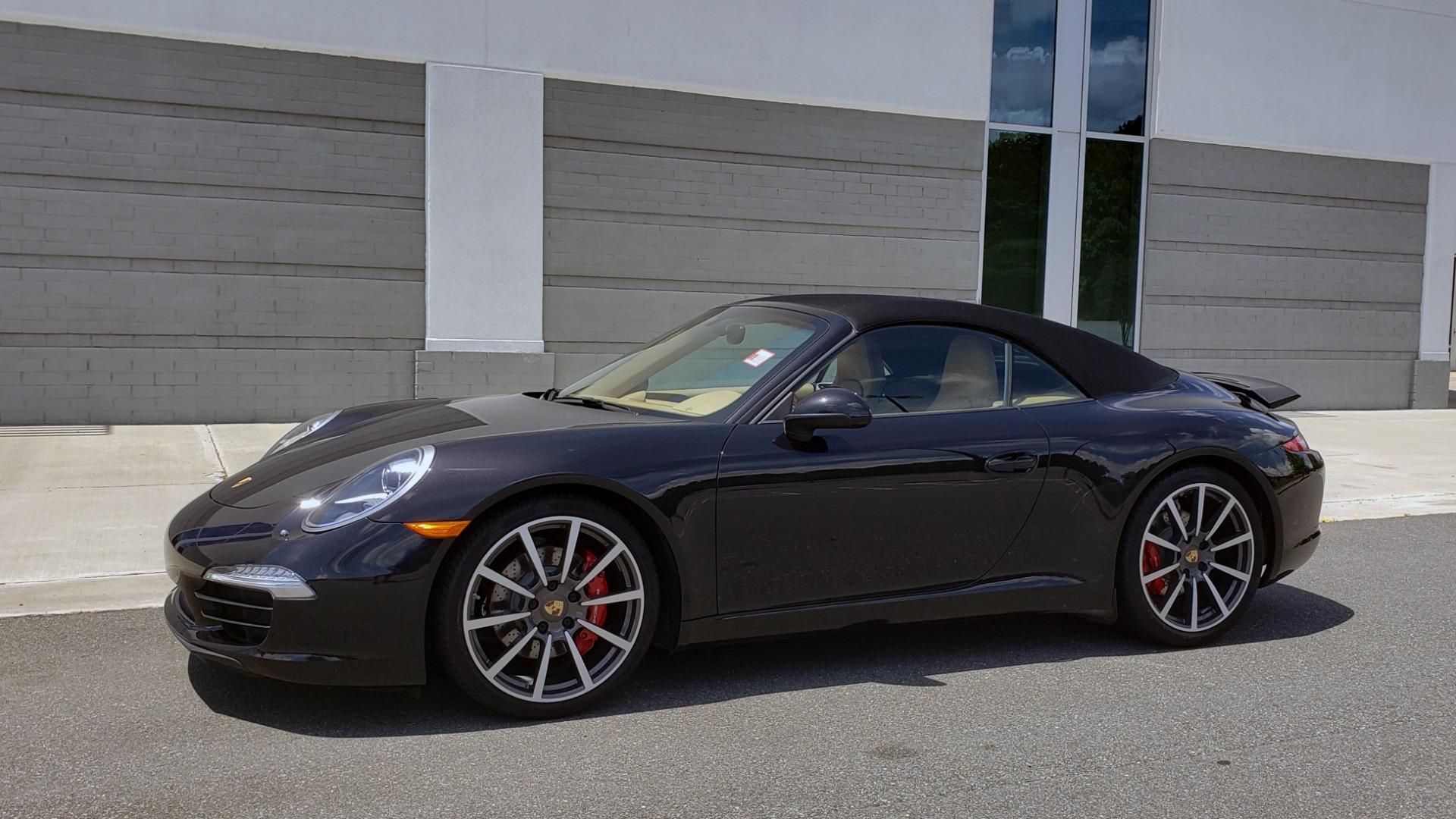 Used 2014 Porsche 911 CARRERA S CABRIOLET / PREM PKG / PDK / NAV / BOSE / SPORT CHRONO for sale $81,995 at Formula Imports in Charlotte NC 28227 6