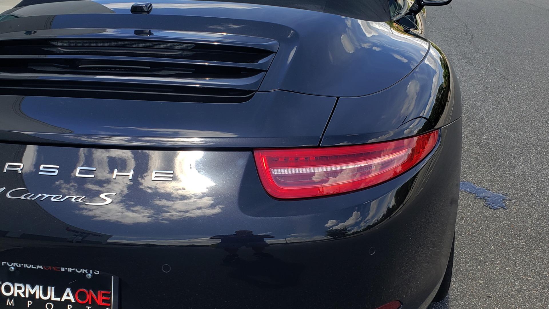 Used 2014 Porsche 911 CARRERA S CABRIOLET / PREM PKG / PDK / NAV / BOSE / SPORT CHRONO for sale $81,995 at Formula Imports in Charlotte NC 28227 61