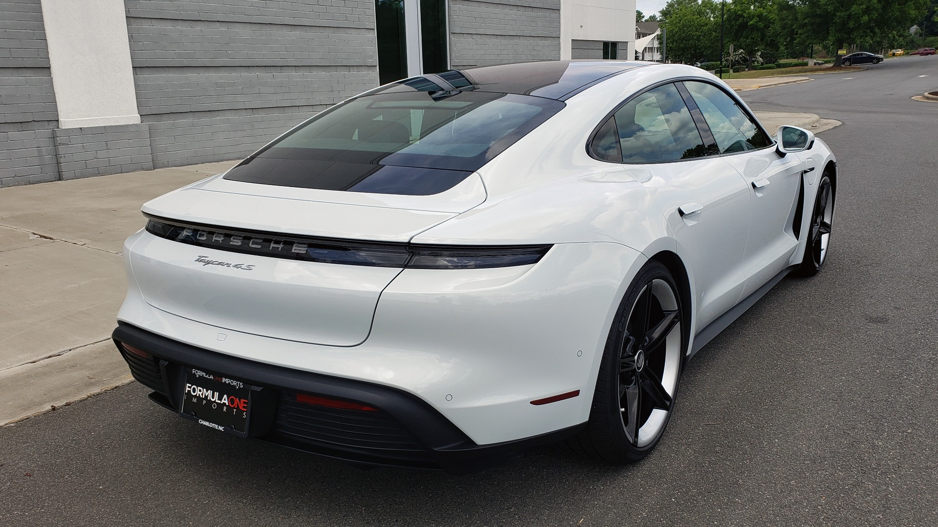 Used 2020 Porsche Taycan 4S for sale Call for price at Formula Imports in Charlotte NC 28227 2