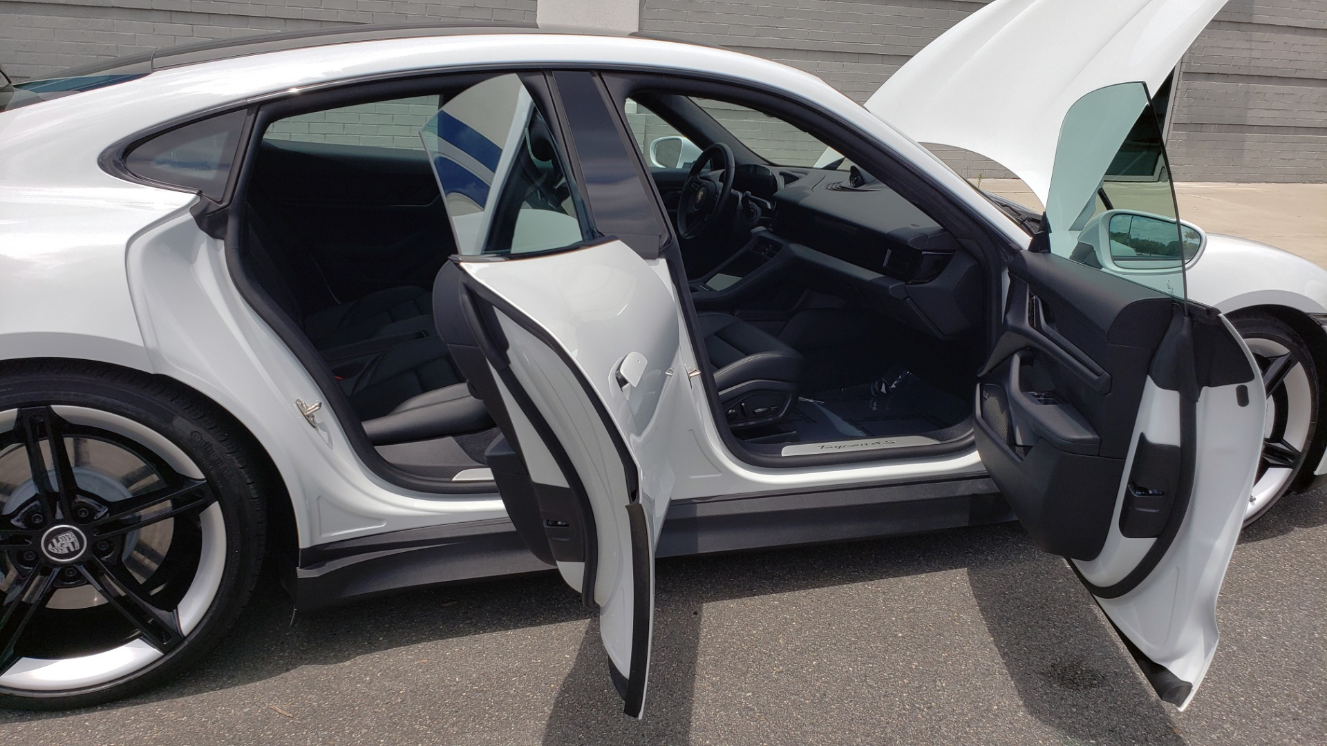 Used 2020 Porsche Taycan 4S for sale Call for price at Formula Imports in Charlotte NC 28227 21