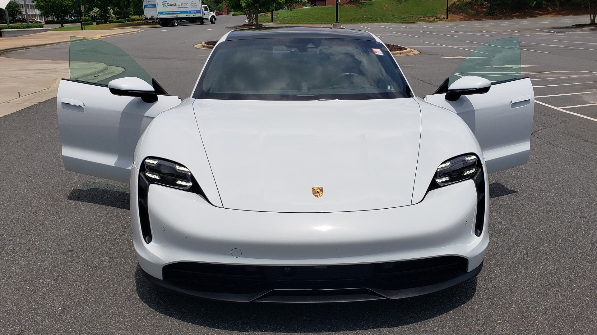 Used 2020 Porsche Taycan 4S for sale Call for price at Formula Imports in Charlotte NC 28227 38