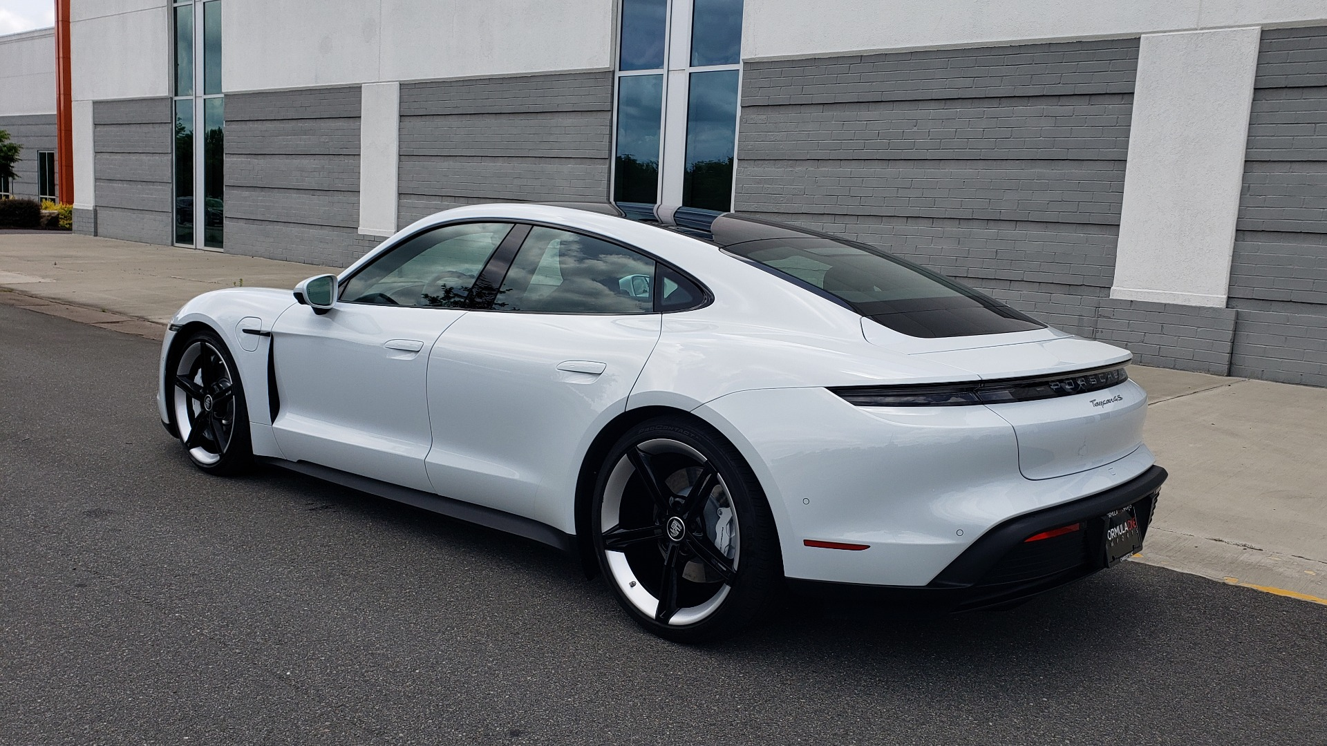 Used 2020 Porsche Taycan 4S for sale Call for price at Formula Imports in Charlotte NC 28227 9