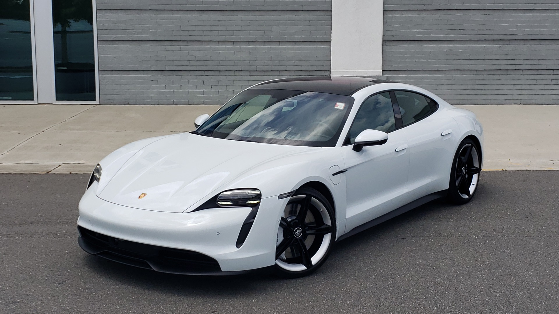 Used 2020 Porsche Taycan 4S for sale Call for price at Formula Imports in Charlotte NC 28227 1