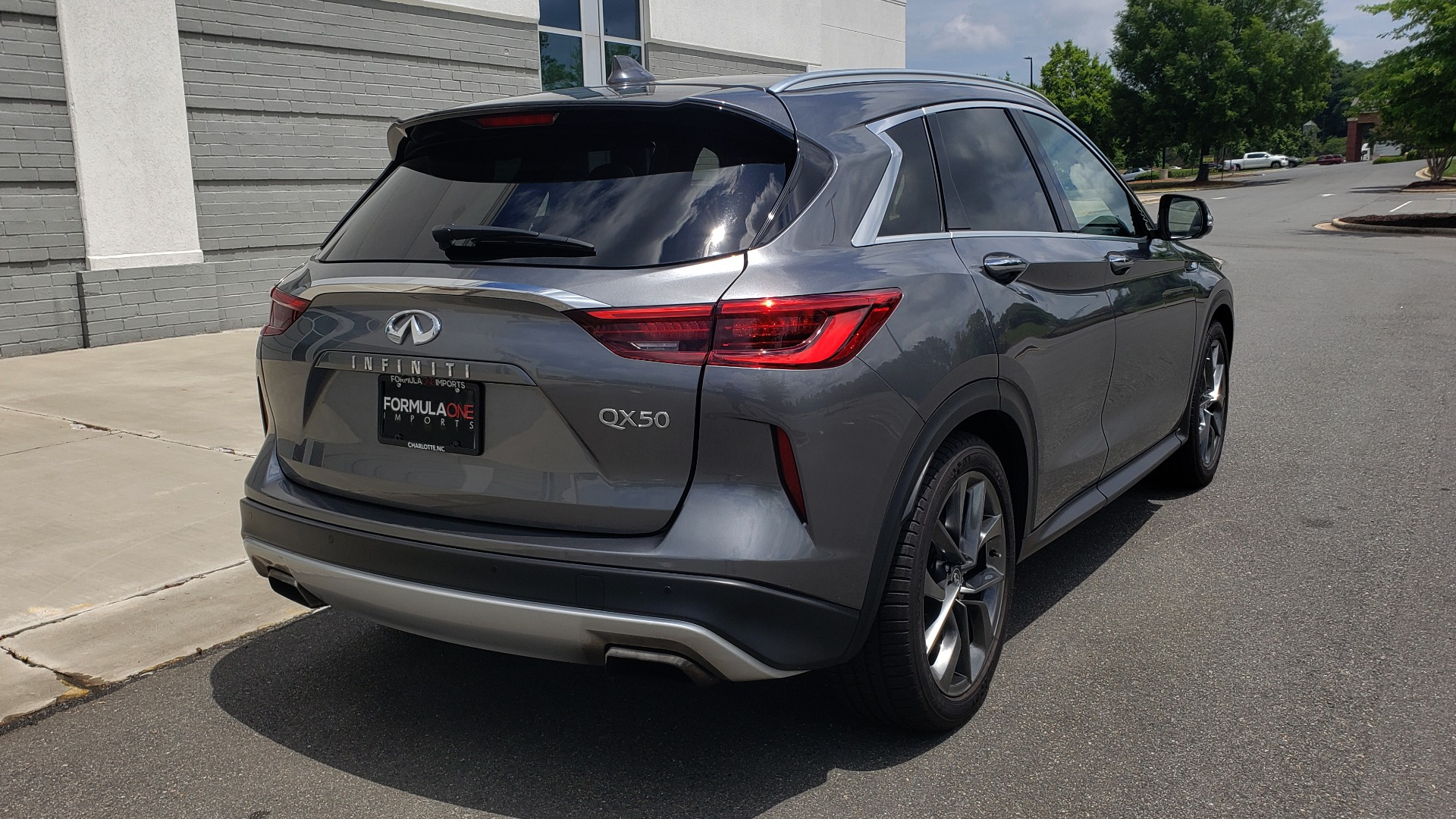 Used 2019 INFINITI QX50 ESSENTIAL / 2.0L / PROASSIST / PROACTIVE / AUTOGRAPH / SENSORY for sale $33,995 at Formula Imports in Charlotte NC 28227 2