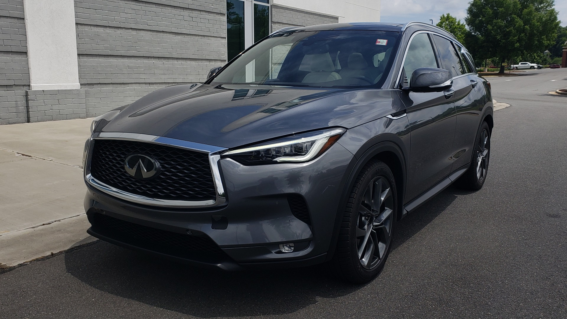 Used 2019 INFINITI QX50 ESSENTIAL / 2.0L / PROASSIST / PROACTIVE / AUTOGRAPH / SENSORY for sale $33,995 at Formula Imports in Charlotte NC 28227 3