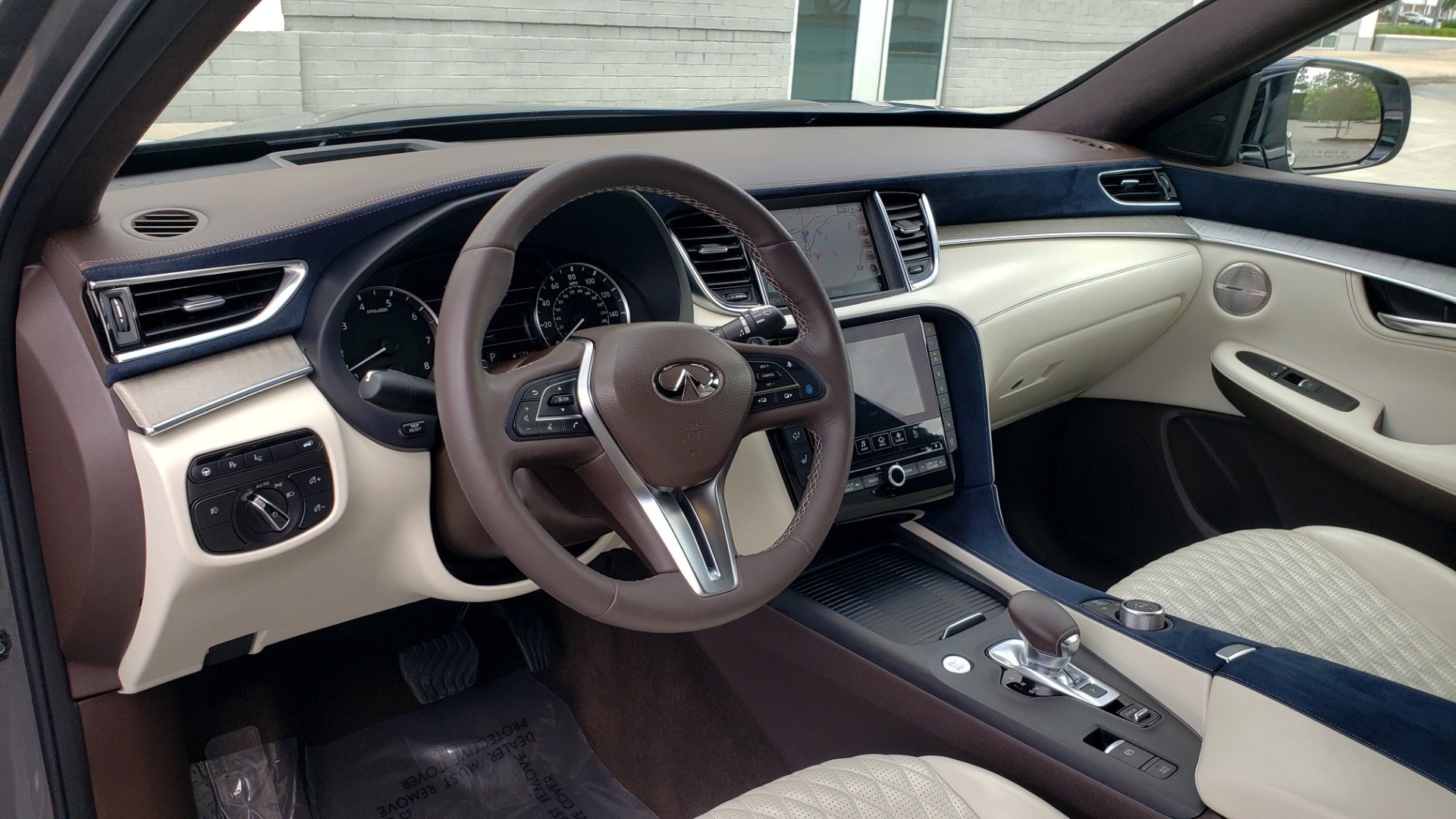 Used 2019 INFINITI QX50 ESSENTIAL / 2.0L / PROASSIST / PROACTIVE / AUTOGRAPH / SENSORY for sale $33,995 at Formula Imports in Charlotte NC 28227 40
