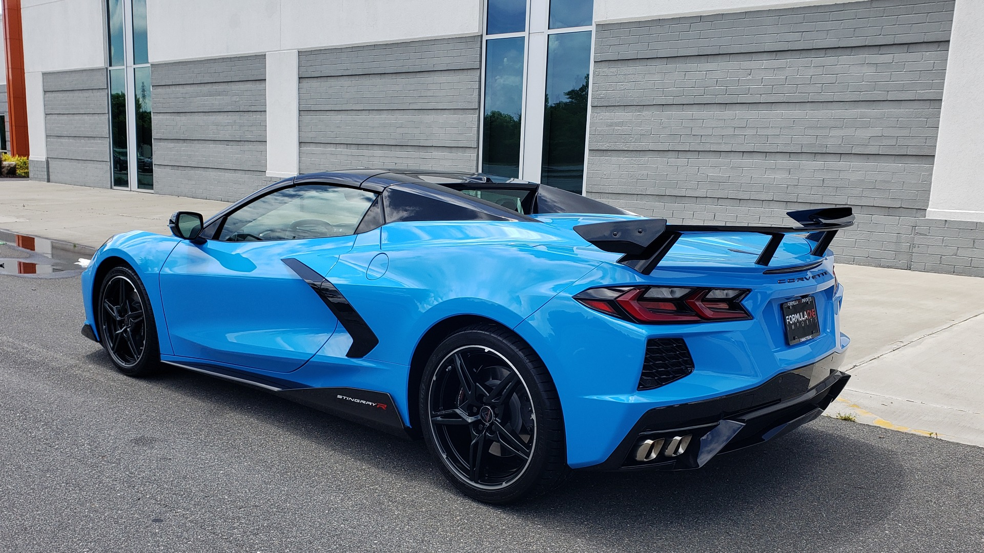 Used 2021 Chevrolet CORVETTE STINGRAY CONVERTIBLE 3LT for sale Call for price at Formula Imports in Charlotte NC 28227 11