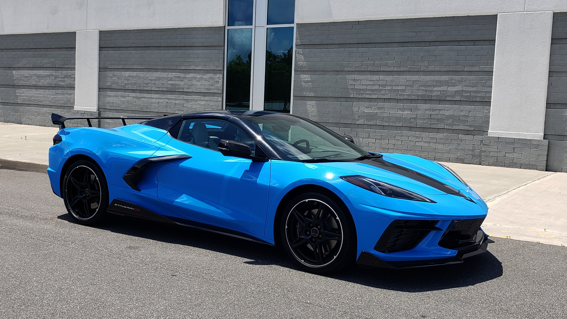 Used 2021 Chevrolet CORVETTE STINGRAY CONVERTIBLE 3LT for sale Call for price at Formula Imports in Charlotte NC 28227 12