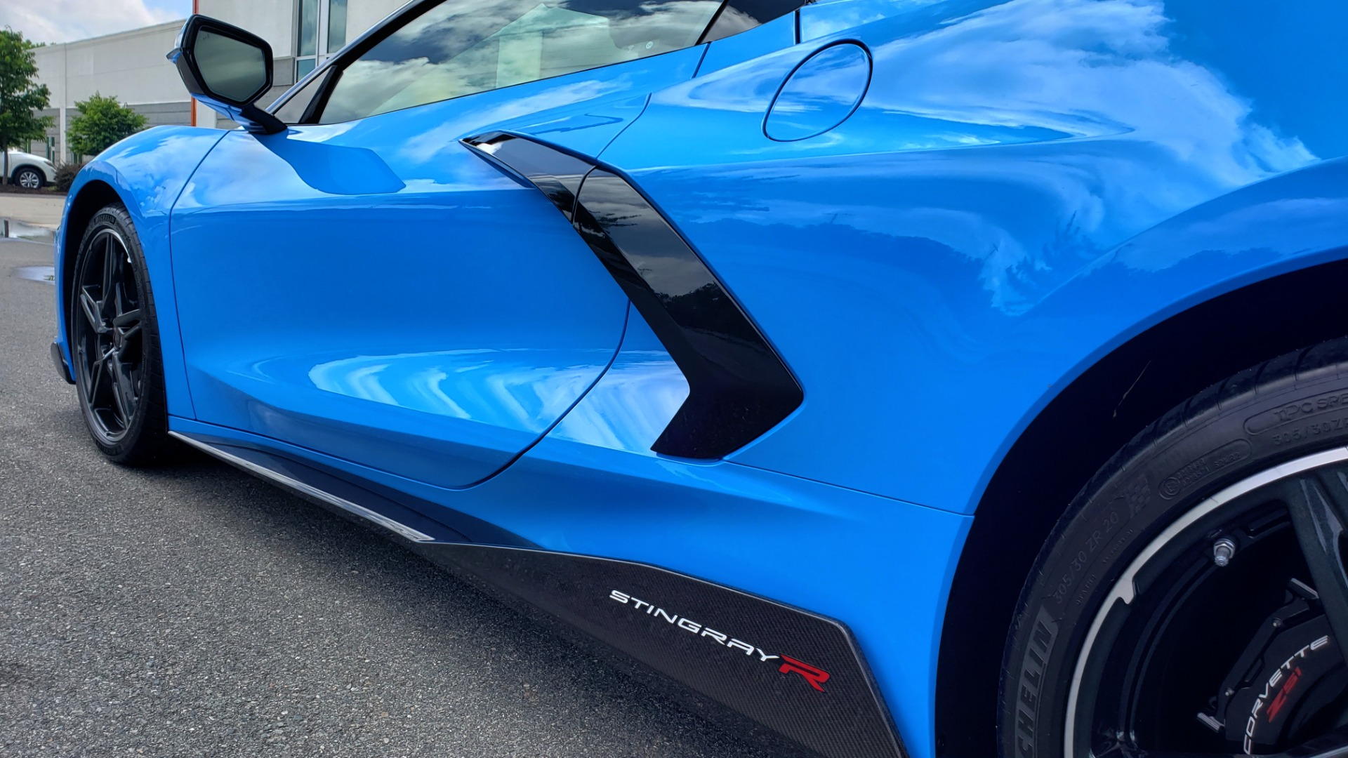 Used 2021 Chevrolet CORVETTE STINGRAY CONVERTIBLE 3LT for sale Call for price at Formula Imports in Charlotte NC 28227 14