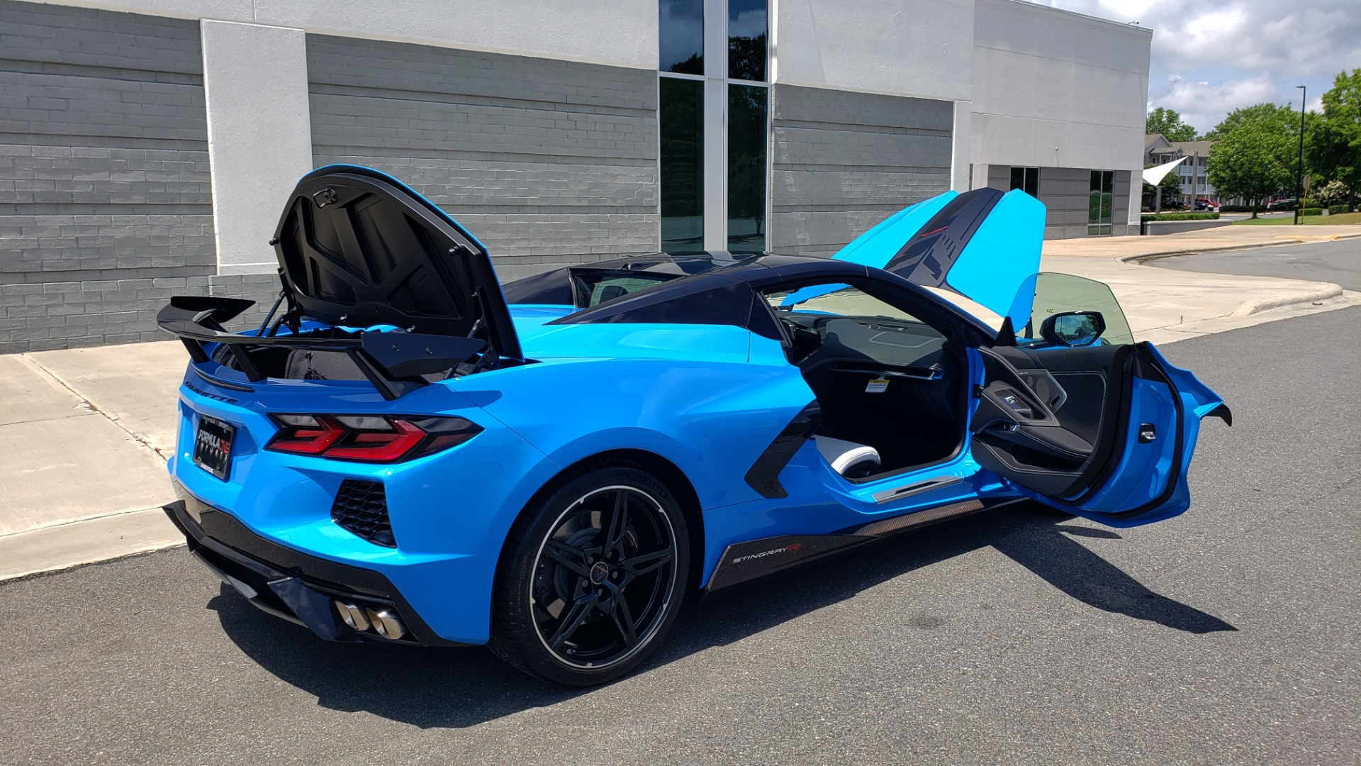 Used 2021 Chevrolet CORVETTE STINGRAY CONVERTIBLE 3LT for sale Call for price at Formula Imports in Charlotte NC 28227 26