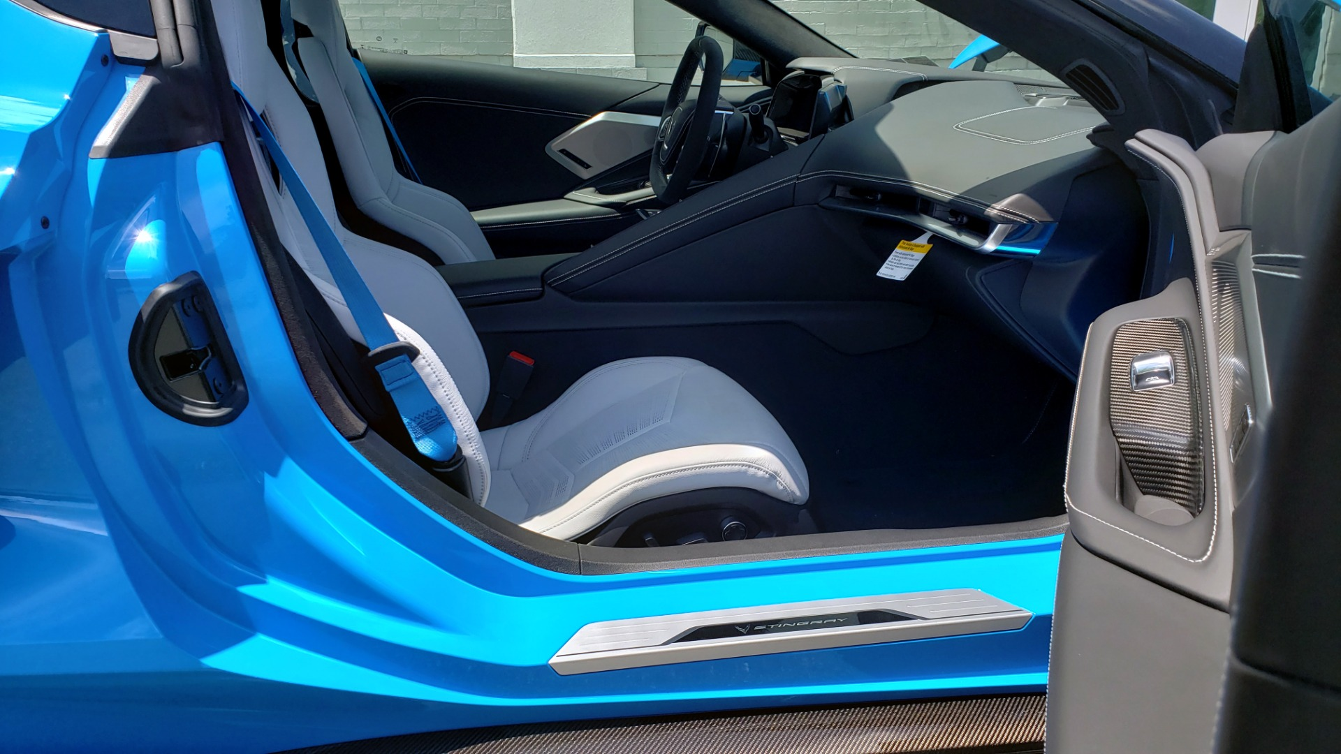 Used 2021 Chevrolet CORVETTE STINGRAY CONVERTIBLE 3LT for sale Call for price at Formula Imports in Charlotte NC 28227 27