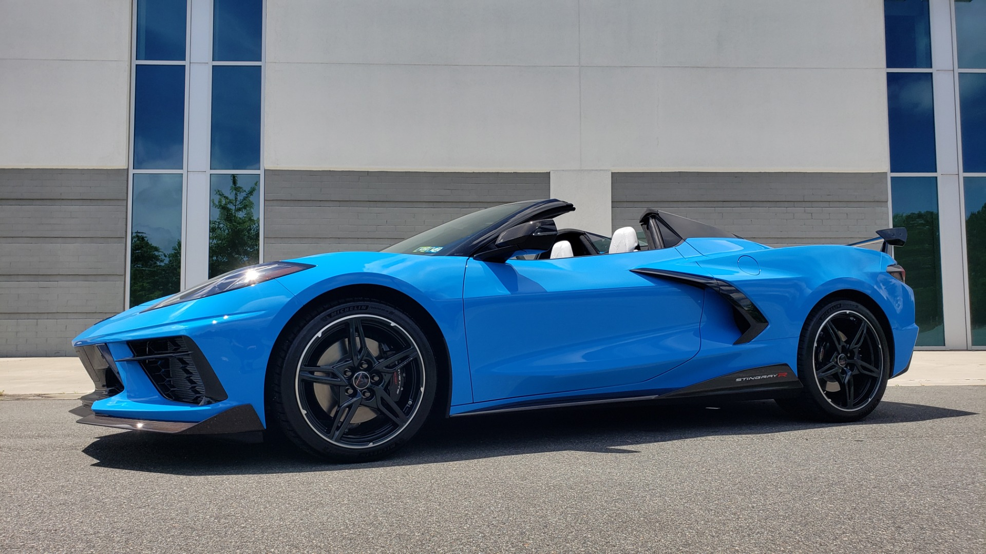Used 2021 Chevrolet CORVETTE STINGRAY CONVERTIBLE 3LT for sale Call for price at Formula Imports in Charlotte NC 28227 3