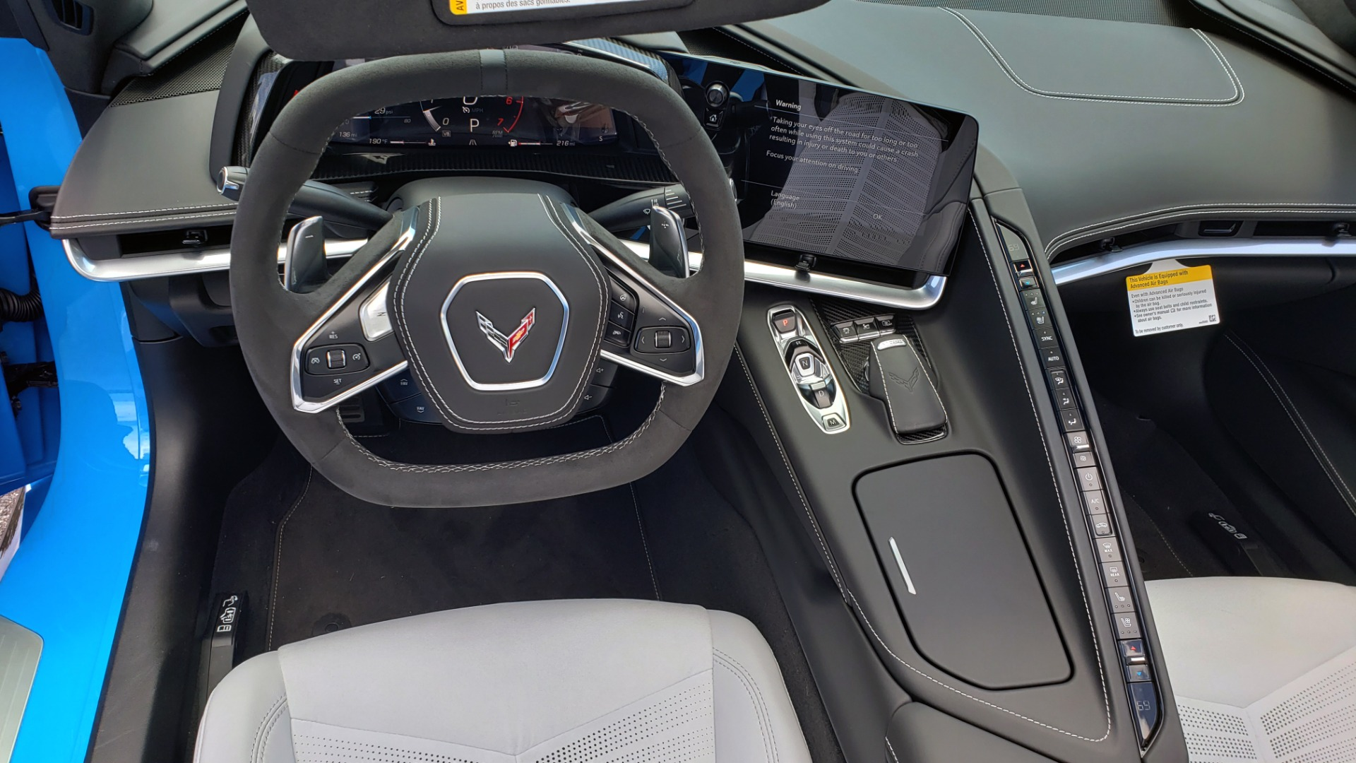 Used 2021 Chevrolet CORVETTE STINGRAY CONVERTIBLE 3LT for sale Call for price at Formula Imports in Charlotte NC 28227 39