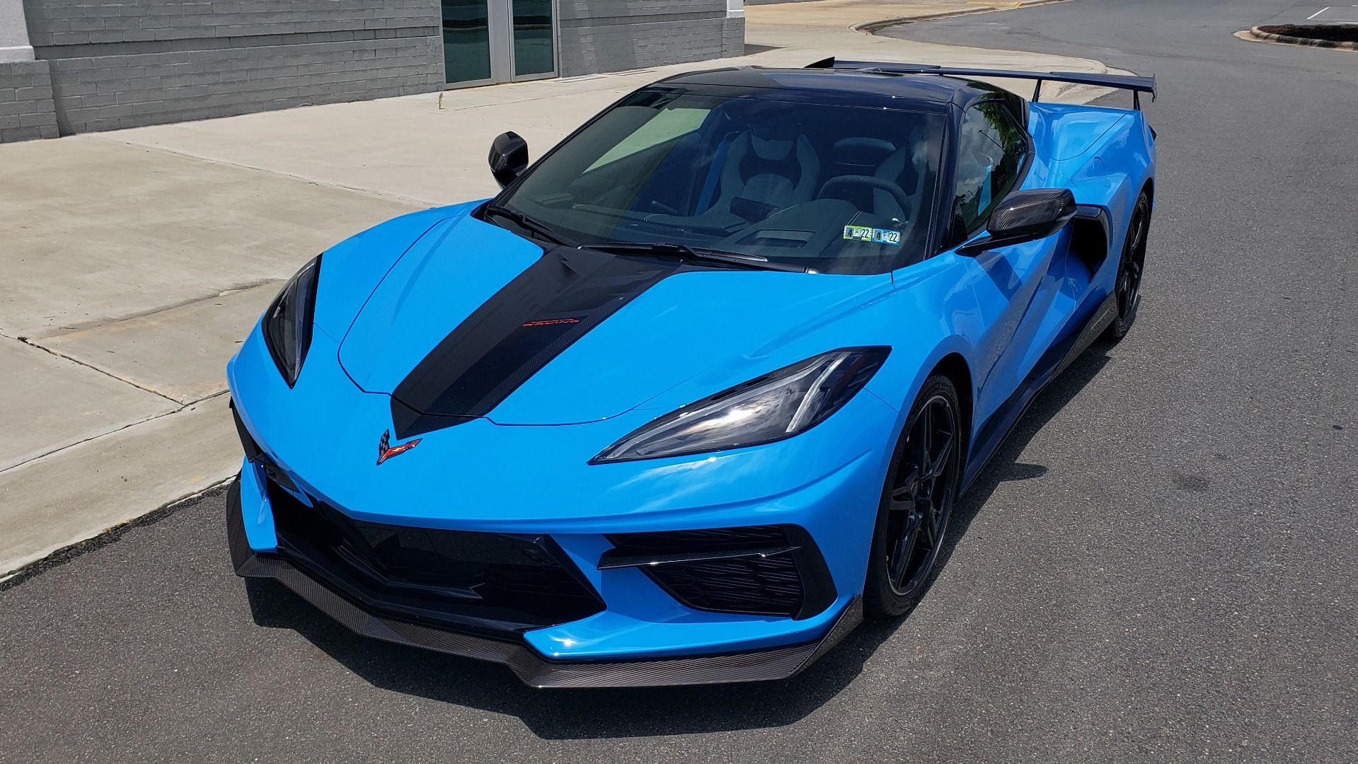 Used 2021 Chevrolet CORVETTE STINGRAY CONVERTIBLE 3LT for sale Call for price at Formula Imports in Charlotte NC 28227 4