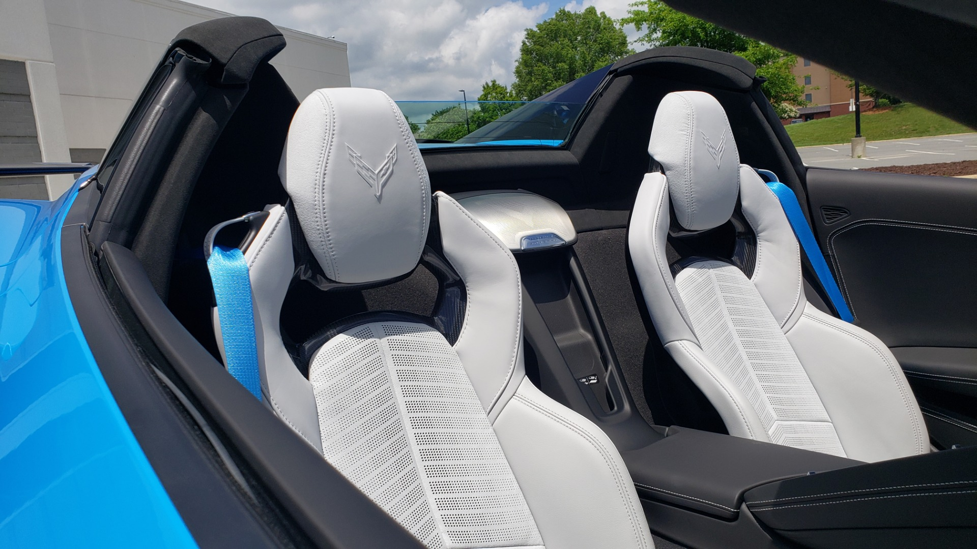 Used 2021 Chevrolet CORVETTE STINGRAY CONVERTIBLE 3LT for sale Call for price at Formula Imports in Charlotte NC 28227 41