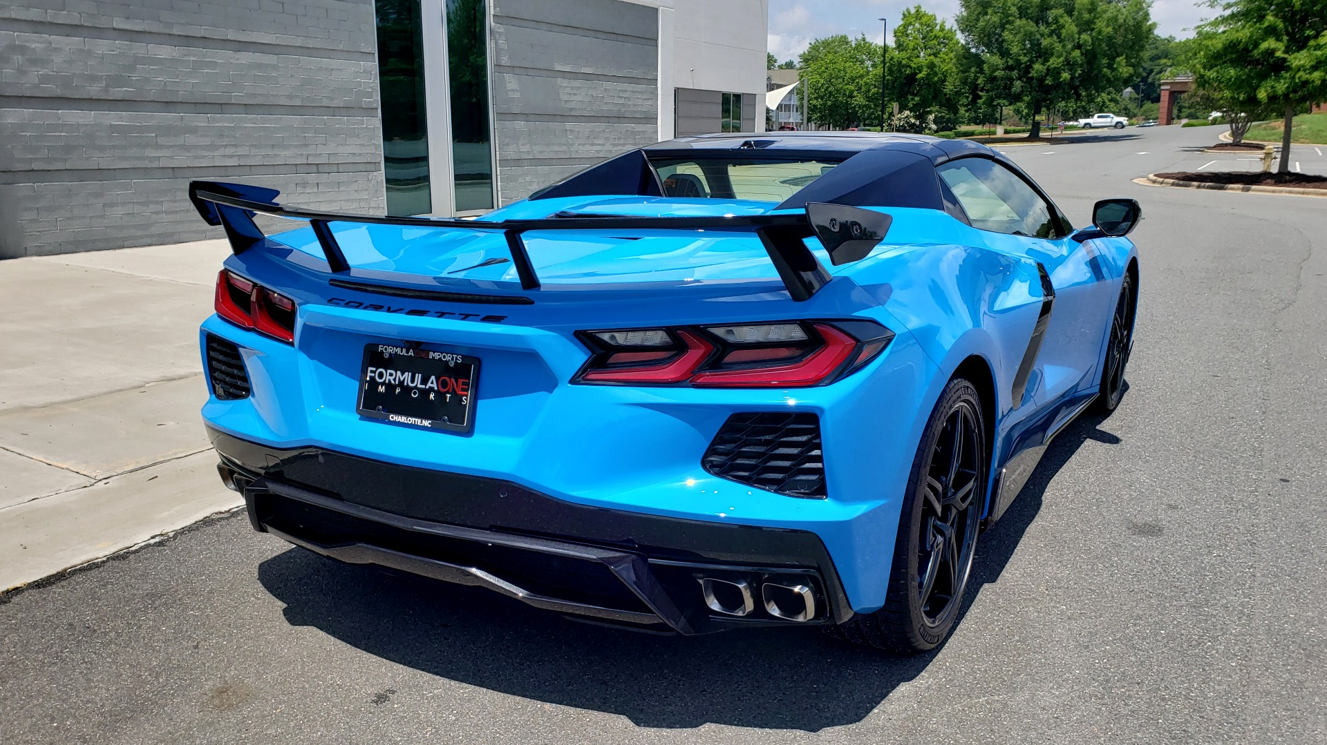 Used 2021 Chevrolet CORVETTE STINGRAY CONVERTIBLE 3LT for sale Call for price at Formula Imports in Charlotte NC 28227 5