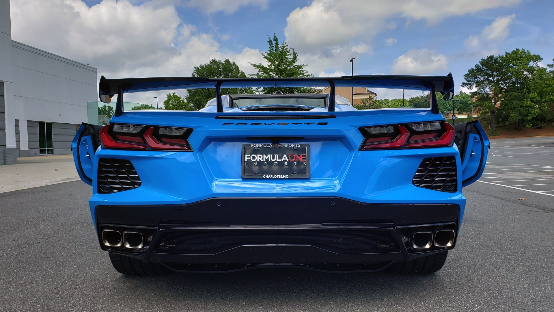 Used 2021 Chevrolet CORVETTE STINGRAY CONVERTIBLE 3LT for sale Call for price at Formula Imports in Charlotte NC 28227 57