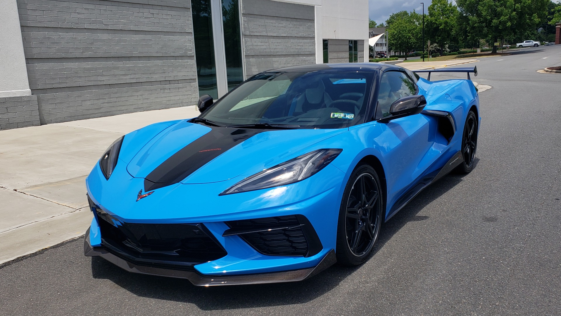 Used 2021 Chevrolet CORVETTE STINGRAY CONVERTIBLE 3LT for sale Call for price at Formula Imports in Charlotte NC 28227 6