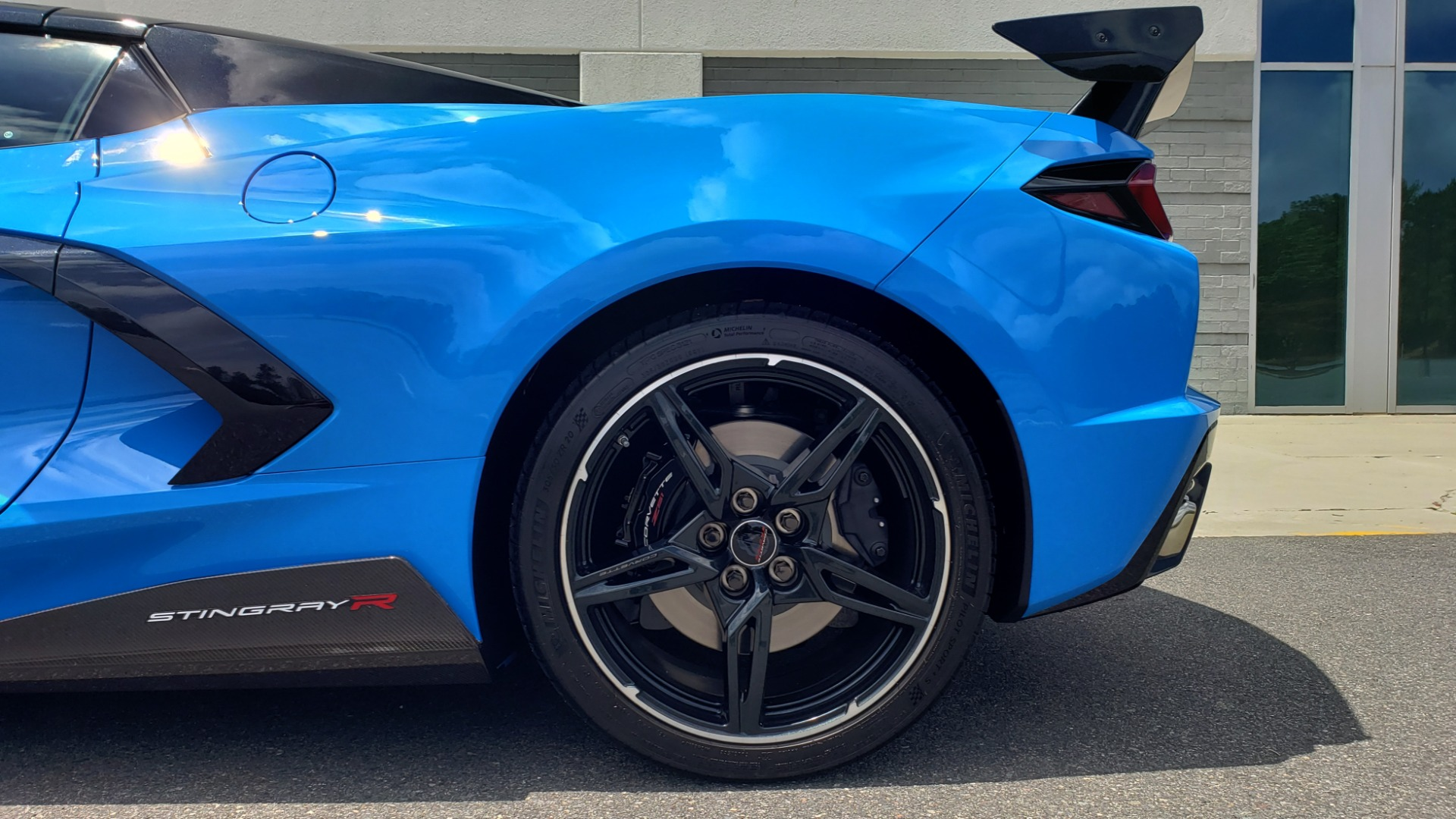 Used 2021 Chevrolet CORVETTE STINGRAY CONVERTIBLE 3LT for sale Call for price at Formula Imports in Charlotte NC 28227 63