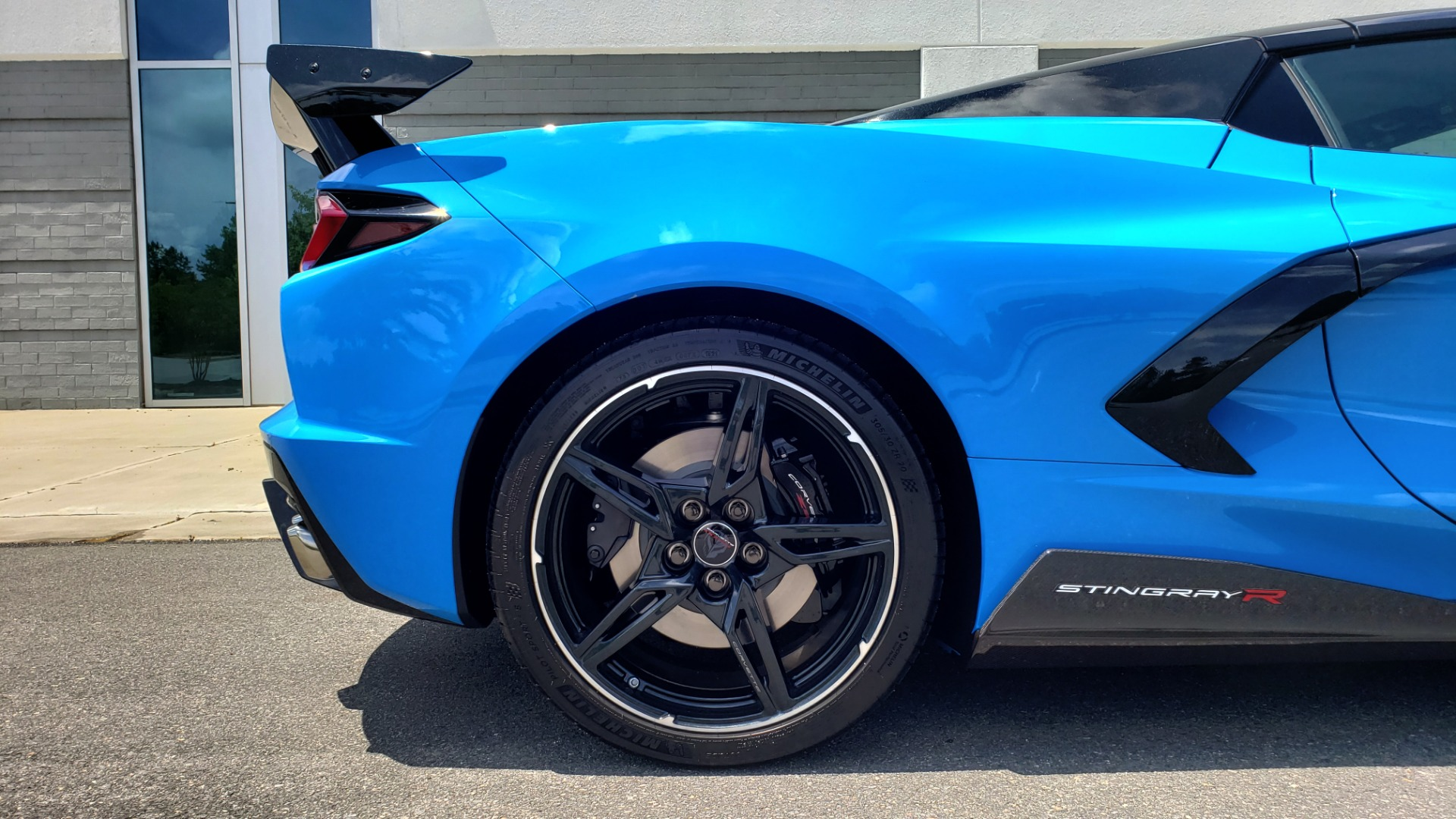 Used 2021 Chevrolet CORVETTE STINGRAY CONVERTIBLE 3LT for sale Call for price at Formula Imports in Charlotte NC 28227 64