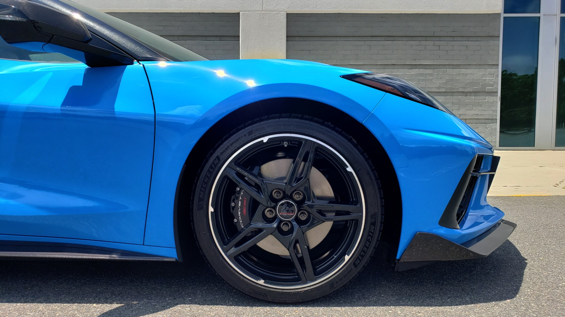 Used 2021 Chevrolet CORVETTE STINGRAY CONVERTIBLE 3LT for sale Call for price at Formula Imports in Charlotte NC 28227 65