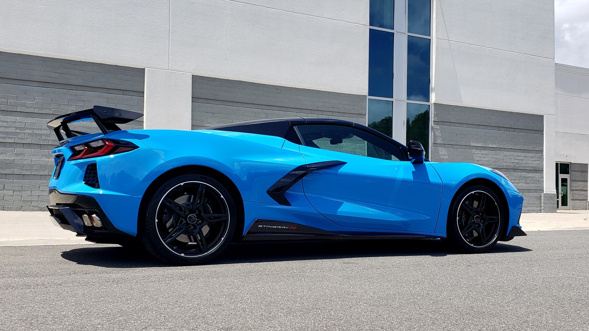 Used 2021 Chevrolet CORVETTE STINGRAY CONVERTIBLE 3LT for sale Call for price at Formula Imports in Charlotte NC 28227 7