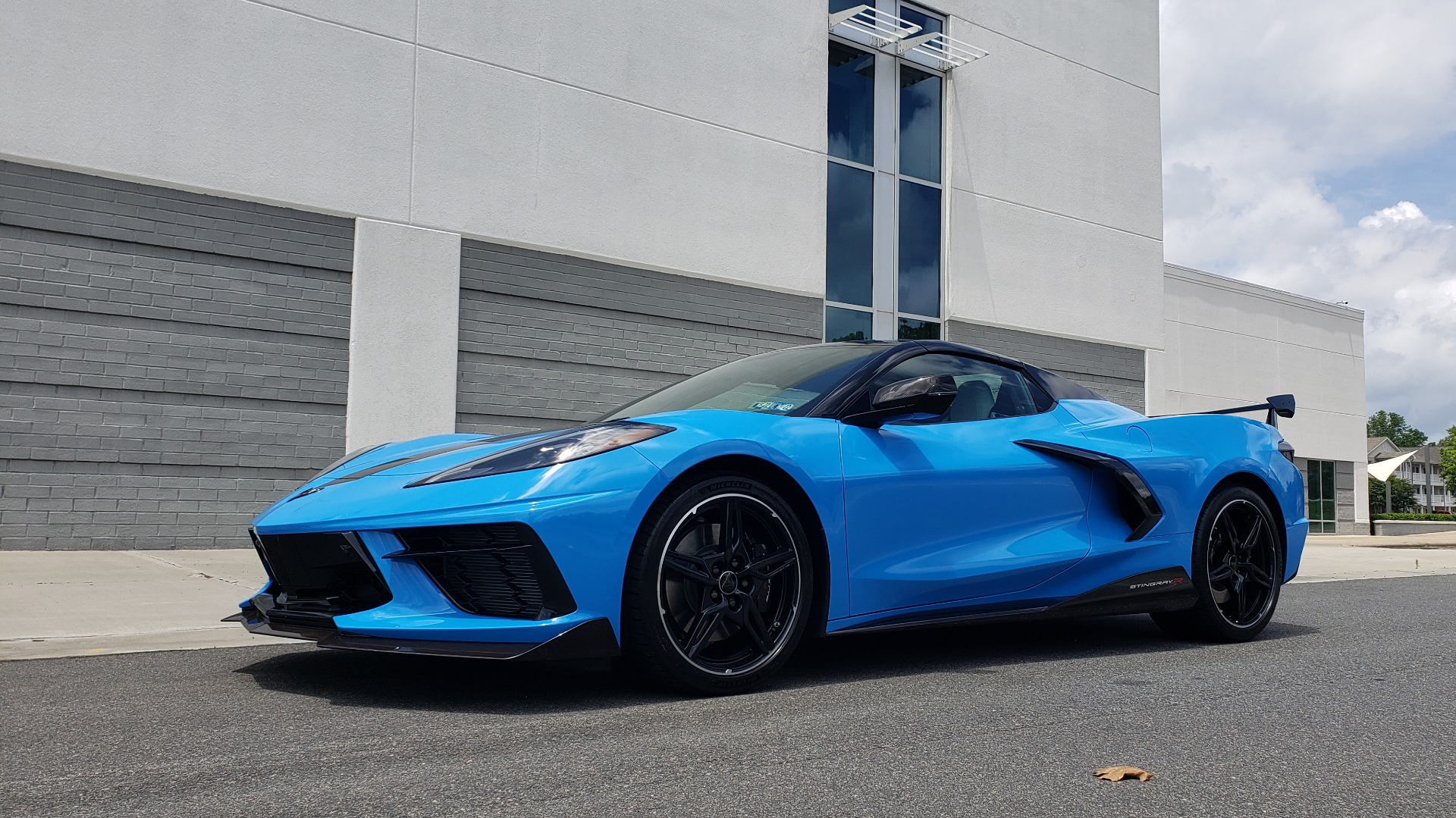 Used 2021 Chevrolet CORVETTE STINGRAY CONVERTIBLE 3LT for sale Call for price at Formula Imports in Charlotte NC 28227 9