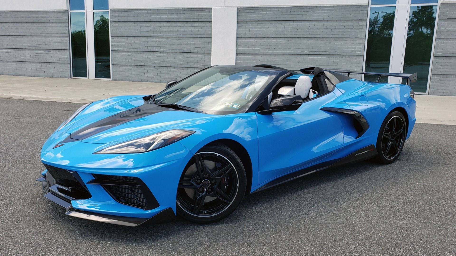 Used 2021 Chevrolet CORVETTE STINGRAY CONVERTIBLE 3LT for sale Call for price at Formula Imports in Charlotte NC 28227 1