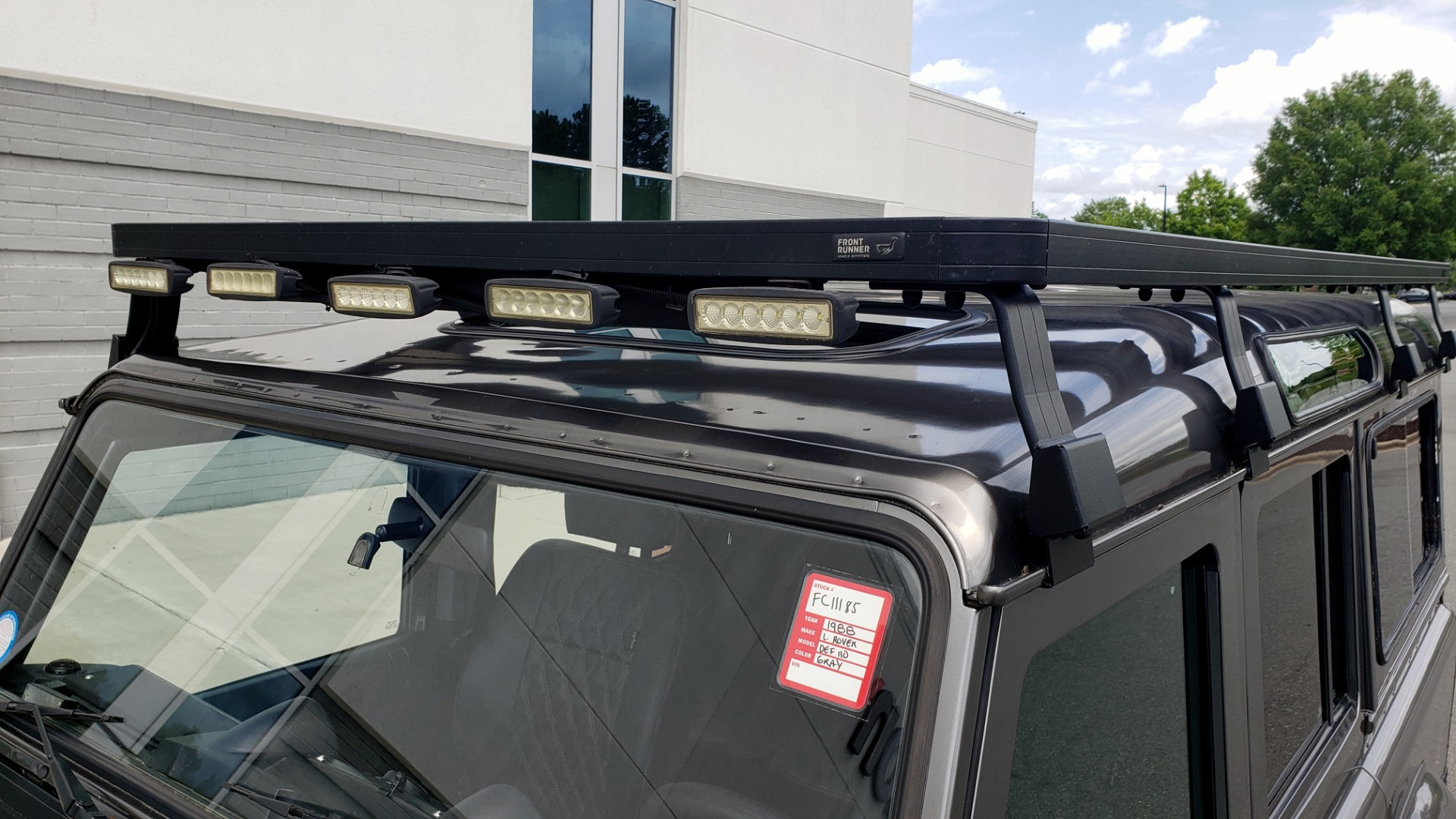 Used 1988 Land Rover DEFENDER 110 CUSTOM 4X4 / LS V8 / PUSH BUTTON AUTO / LEATHER / ROOF RACK for sale $147,888 at Formula Imports in Charlotte NC 28227 8