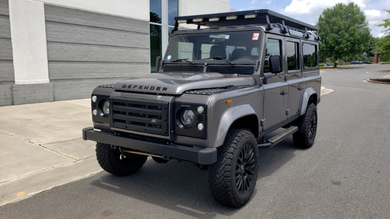 Used 1988 Land Rover DEFENDER 110 CUSTOM 4X4 / LS V8 / PUSH BUTTON AUTO / LEATHER / ROOF RACK for sale $148,888 at Formula Imports in Charlotte NC