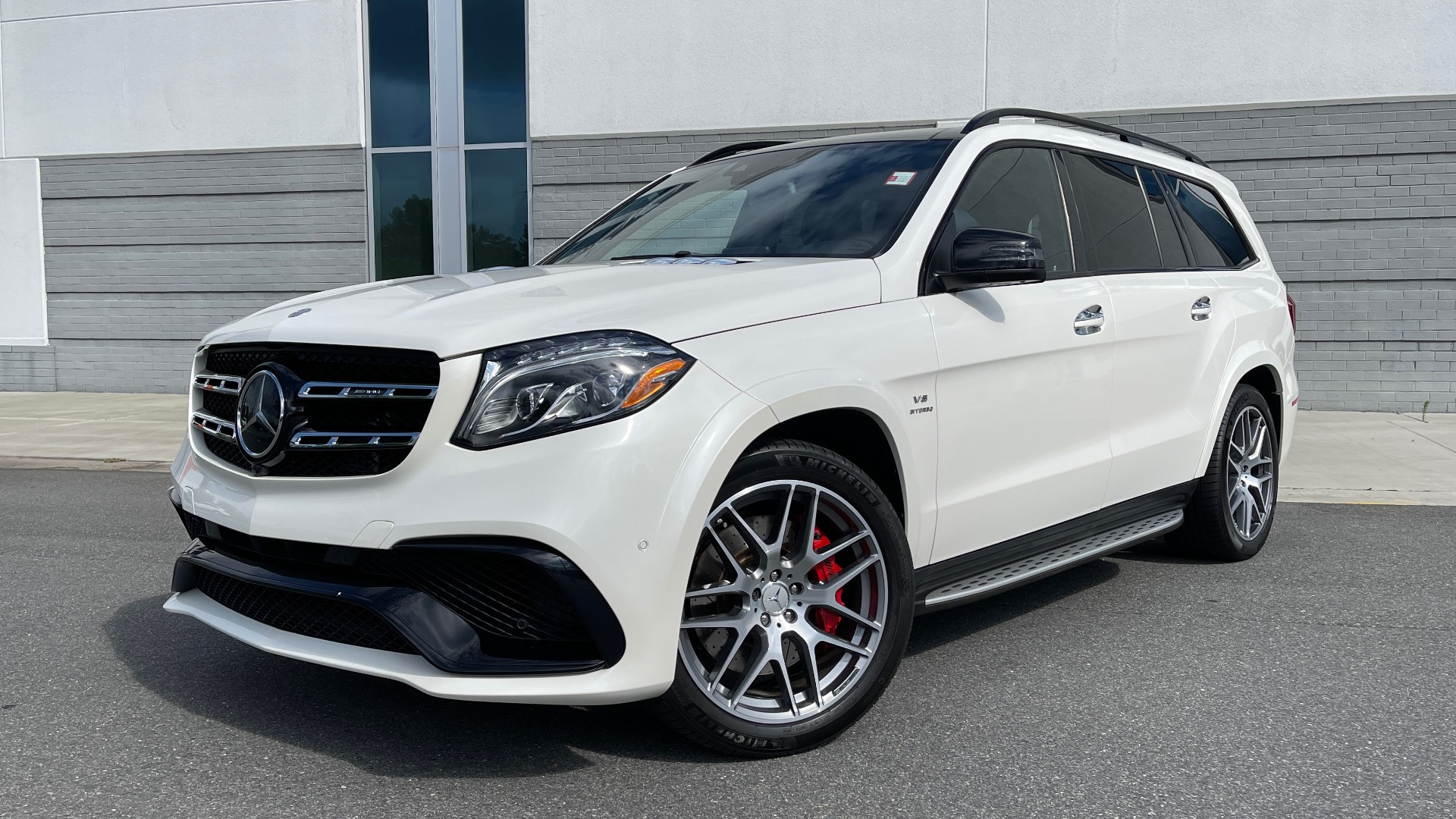 Used 2017 Mercedes-Benz GLS 63 AMG 4MATIC / AMG NIGHT SYLE / NAV / SUNROOF / REARVIEW / 3-ROW for sale Call for price at Formula Imports in Charlotte NC 28227 1