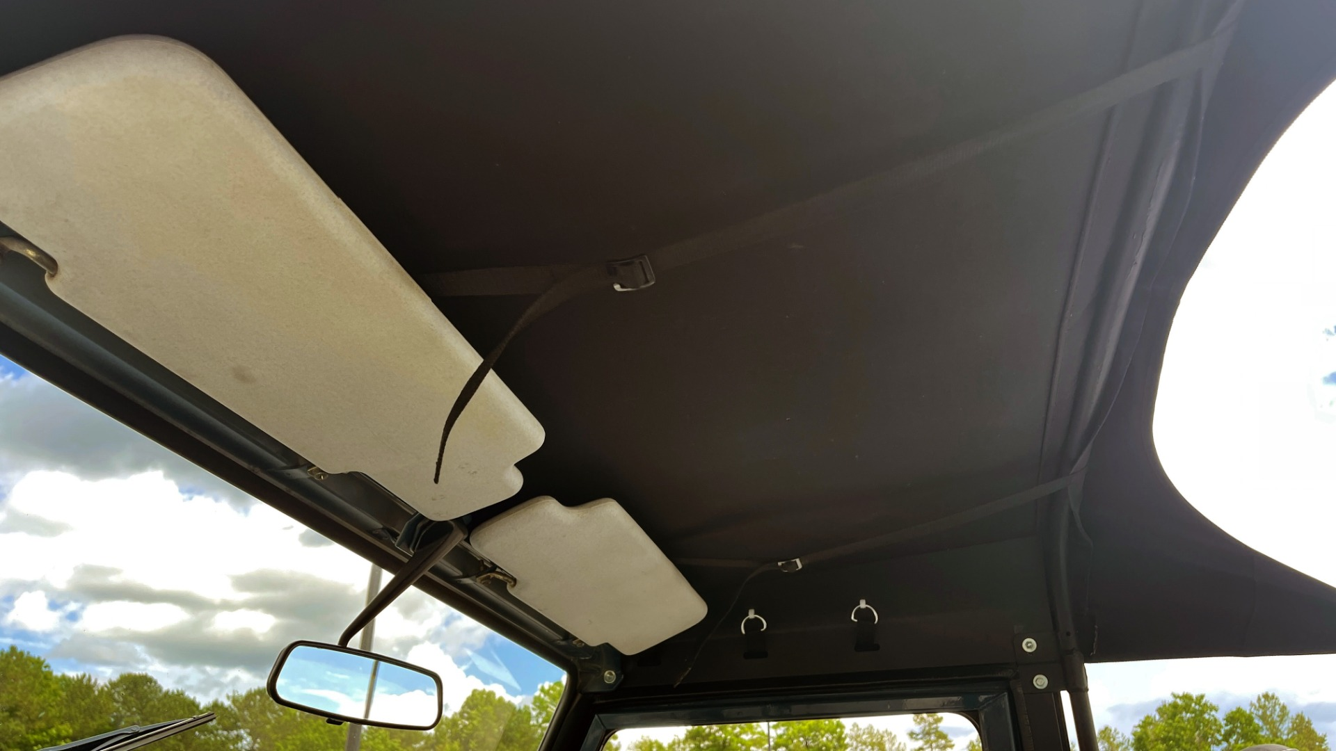 Used 1992 Land Rover DEFENDER 110 SOFT-TOP 4X4 / TURBO DIESEL / MANUAL / NEW SEATS, TOP AND TIRES for sale Call for price at Formula Imports in Charlotte NC 28227 59