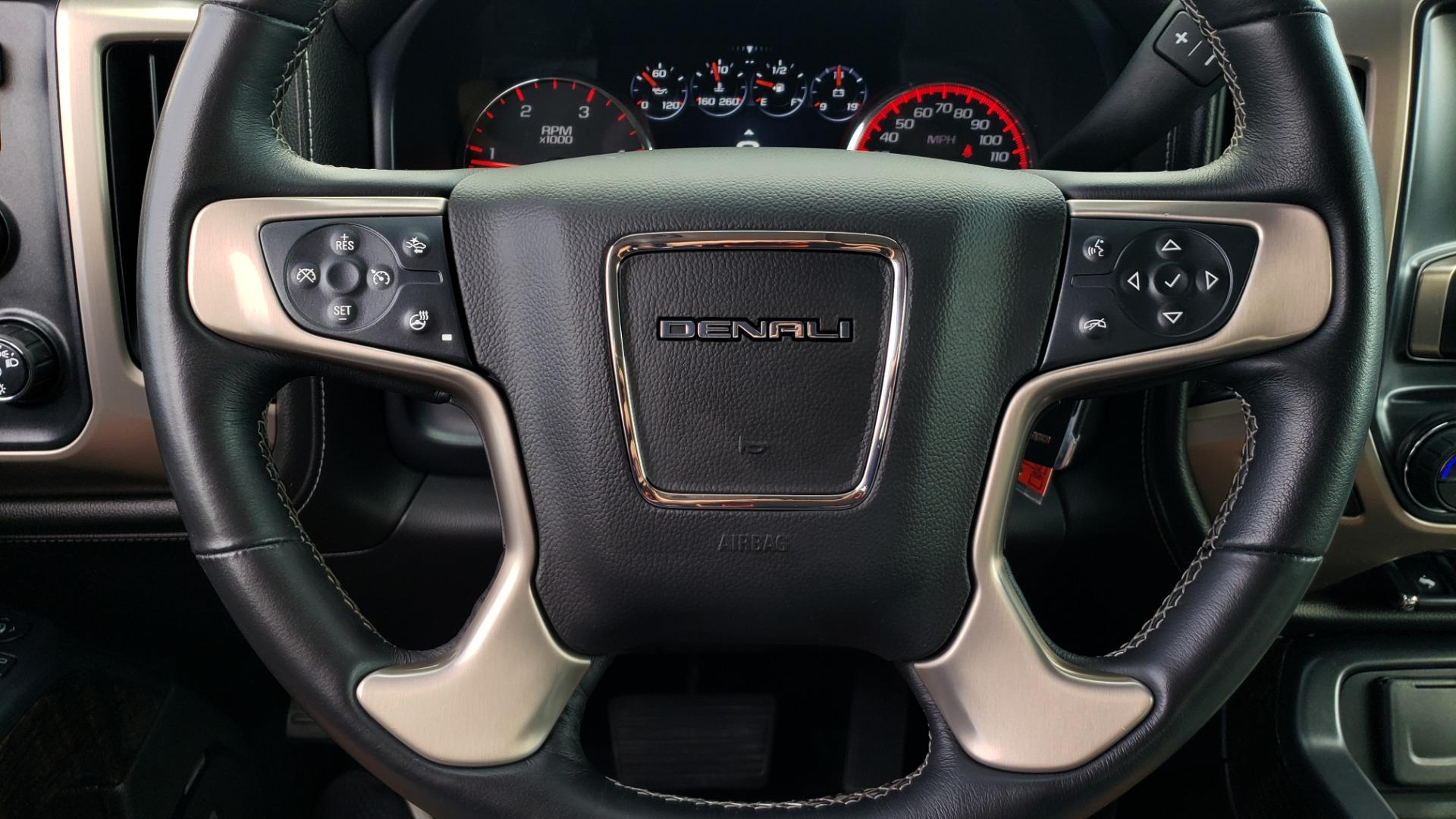 Used 2015 GMC SIERRA 2500HD DENALI / WIFI / NAV / DURAMAX PLUS / DRVR ALERT / SUNROOF / REARVIEW for sale $56,995 at Formula Imports in Charlotte NC 28227 34