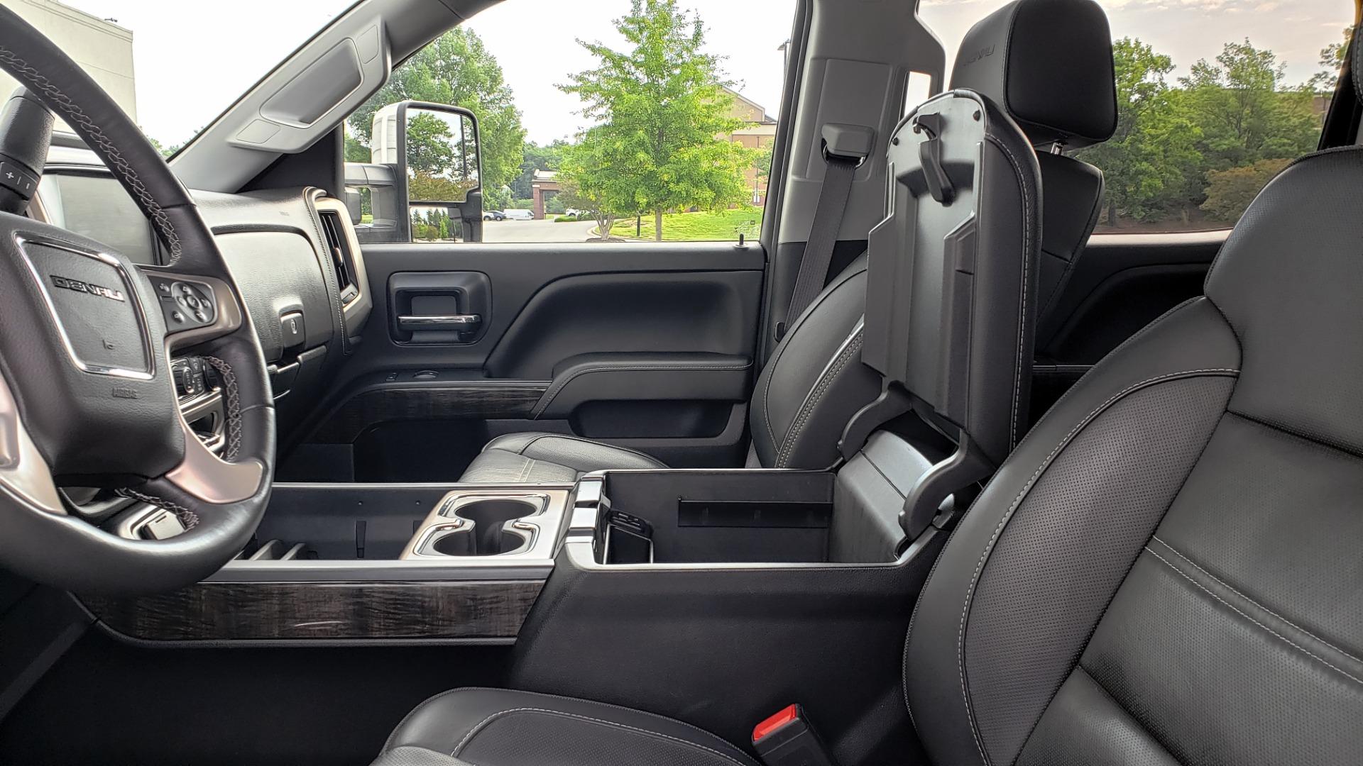 Used 2015 GMC SIERRA 2500HD DENALI / WIFI / NAV / DURAMAX PLUS / DRVR ALERT / SUNROOF / REARVIEW for sale $56,995 at Formula Imports in Charlotte NC 28227 51