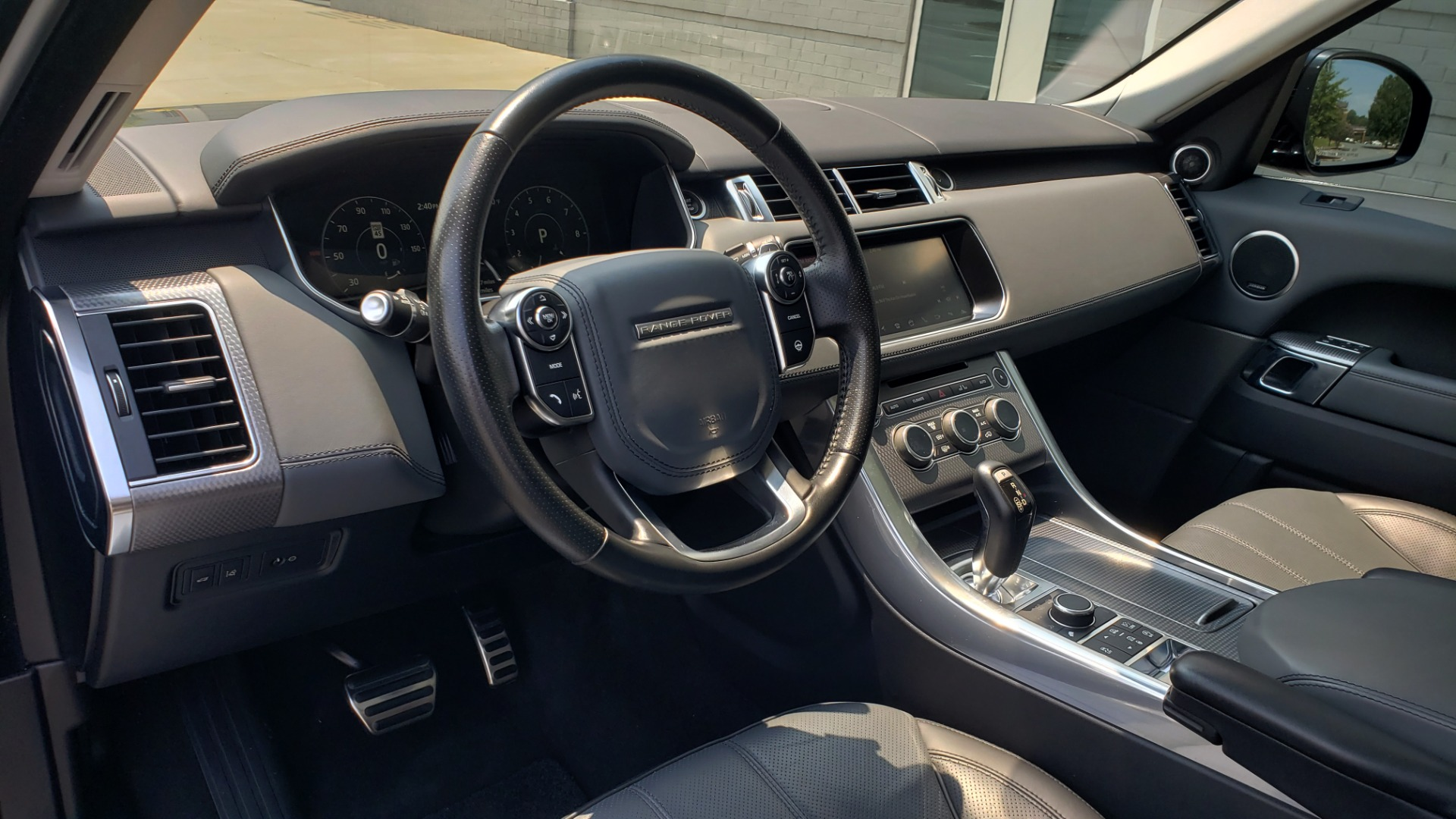 Used 2017 Land Rover Range Rover Sport HSE Dynamic for sale Call for price at Formula Imports in Charlotte NC 28227 42