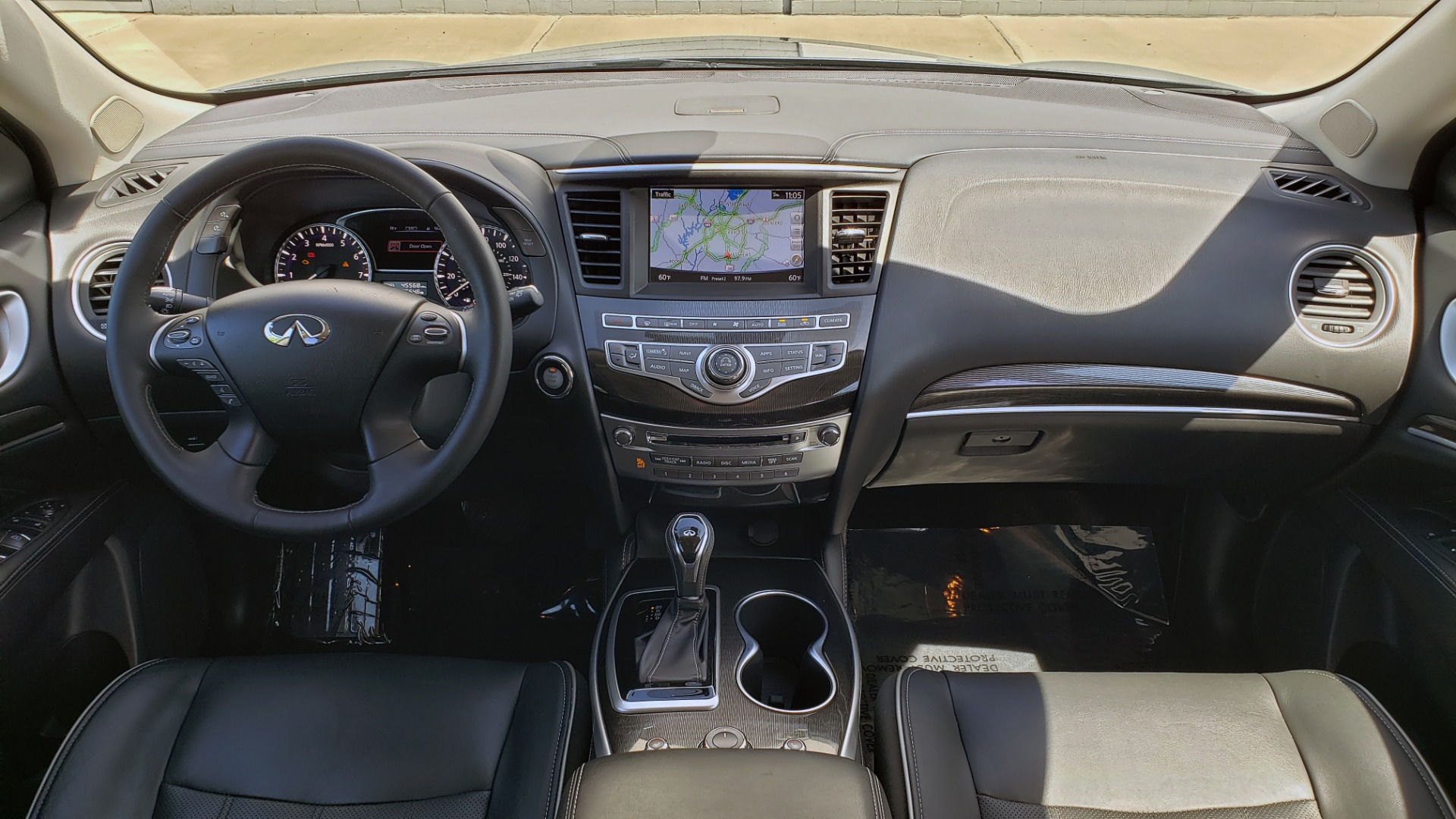 Used 2018 INFINITI QX60 3.5L V6 / FWD / CVT TRANS / NAV / SUNROOF / 3-ROWS / REARVIEW for sale $31,999 at Formula Imports in Charlotte NC 28227 81