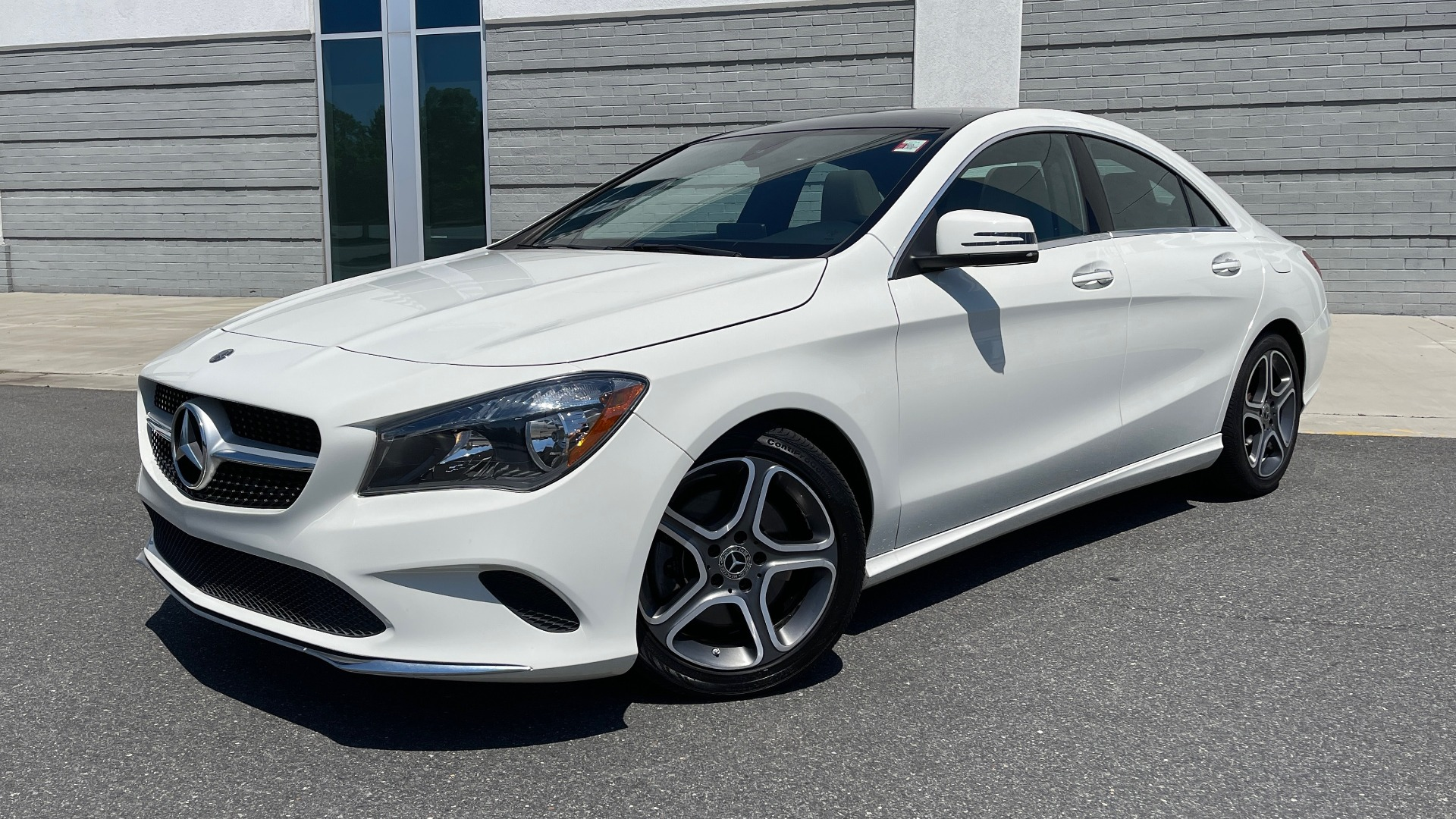 Used 2018 Mercedes-Benz CLA 250 PREMIUM / CONV PKG / APPLE / PANO-ROOF / REARVIEW for sale $29,795 at Formula Imports in Charlotte NC 28227 1