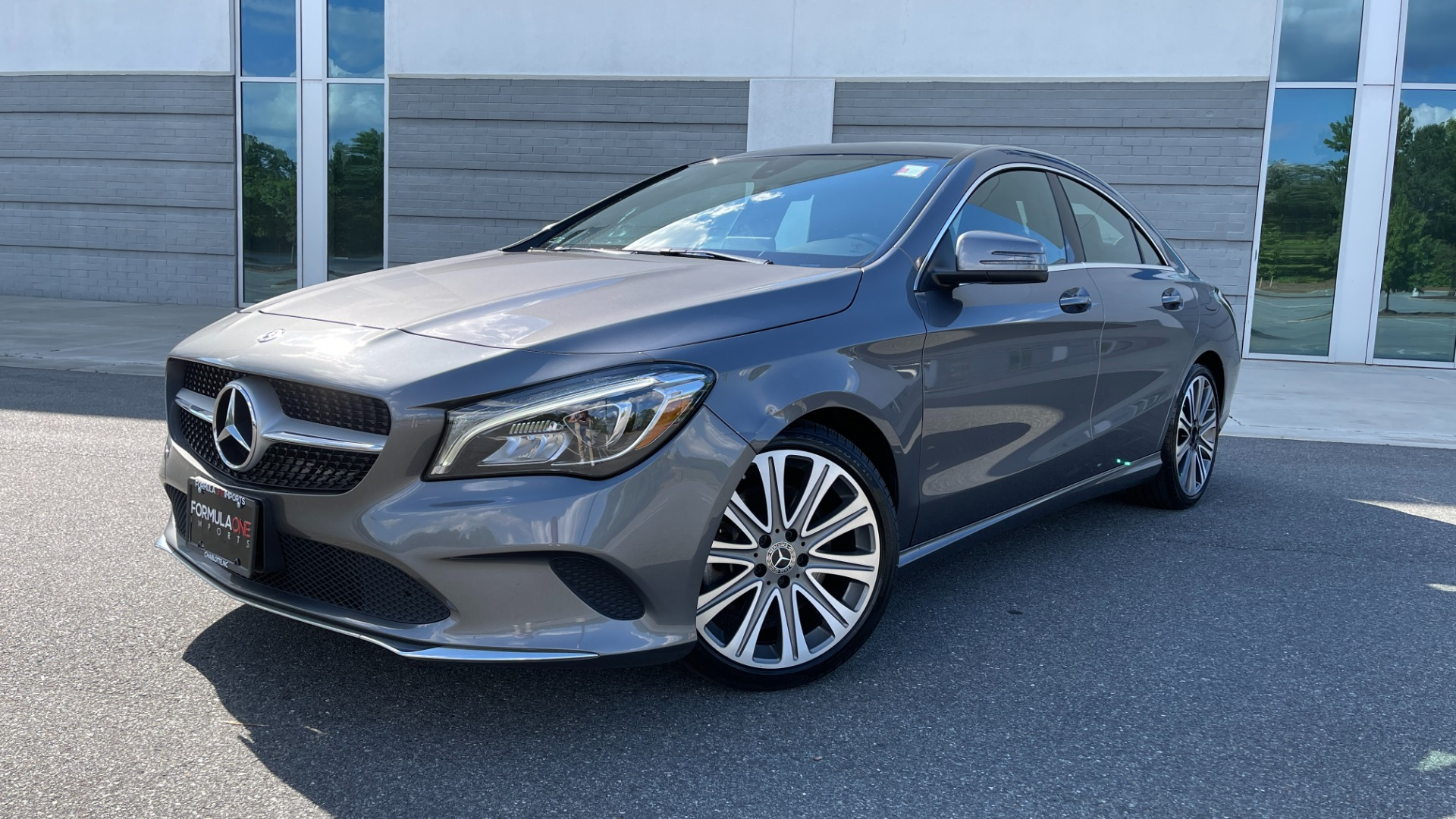 Used 2019 Mercedes-Benz CLA 250 4MATIC PREM & CONV PKG / APPLE / PANO-ROOF / H/K SND / REARVIEW for sale $29,795 at Formula Imports in Charlotte NC 28227 1
