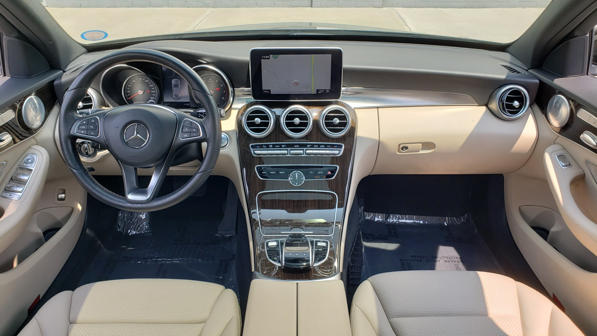 Used 2018 Mercedes-Benz C-CLASS C 300 4MATIC / PREMIUM / MULTIMEDIA / NAV / PANO-ROOF / BURMESTER for sale $30,495 at Formula Imports in Charlotte NC 28227 70